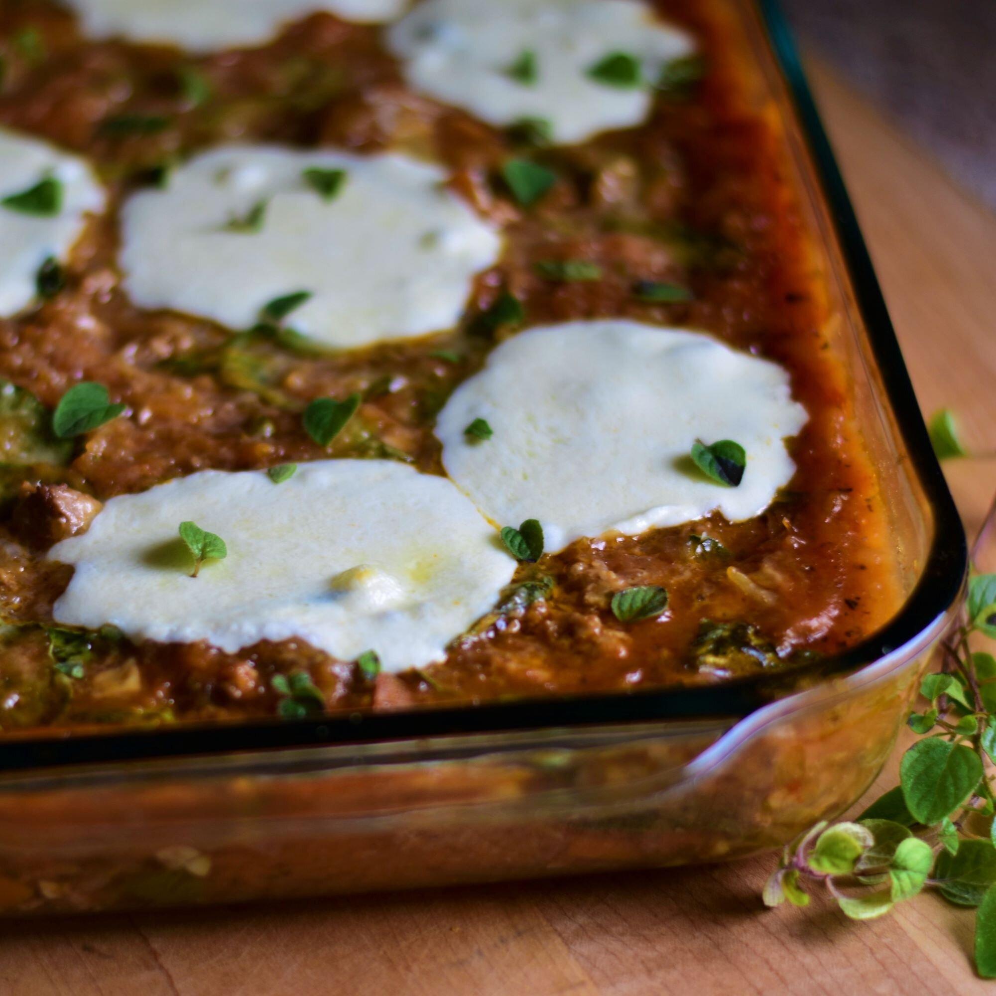 spaghetti squash casserole with chicken