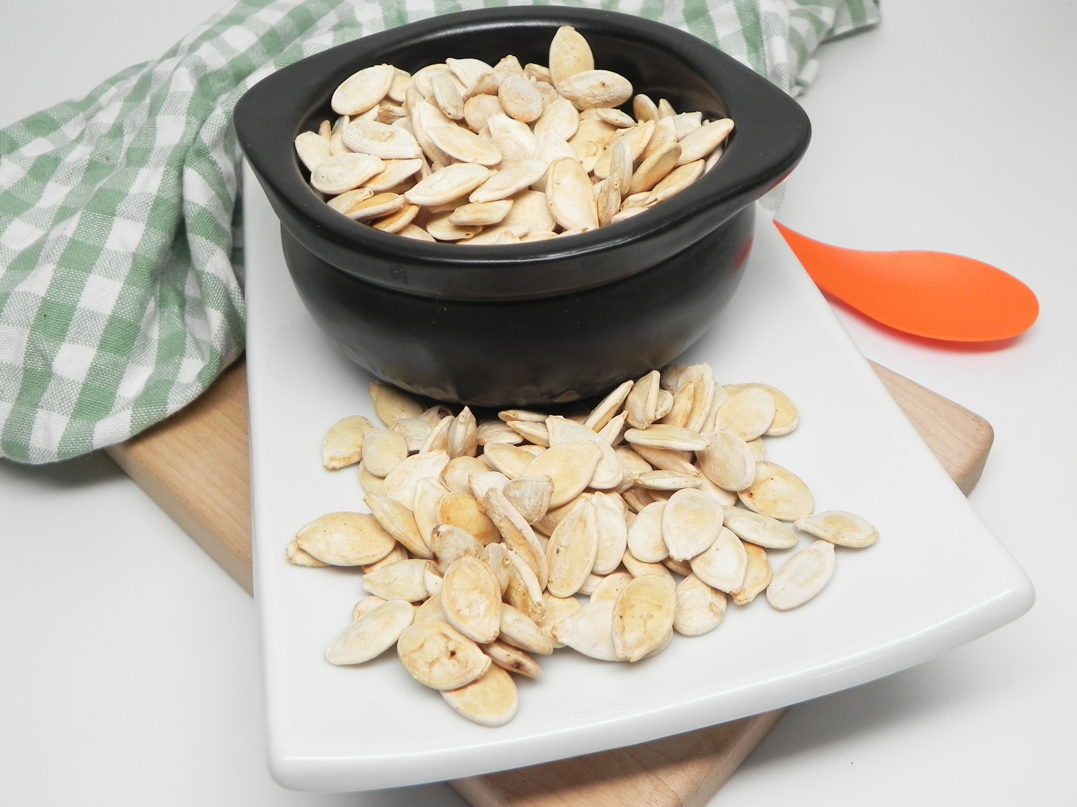 air fryer salt and vinegar pumpkin seeds