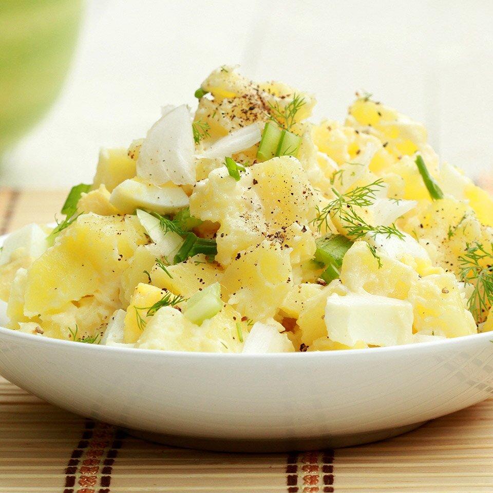 heart healthy idaho potato salad