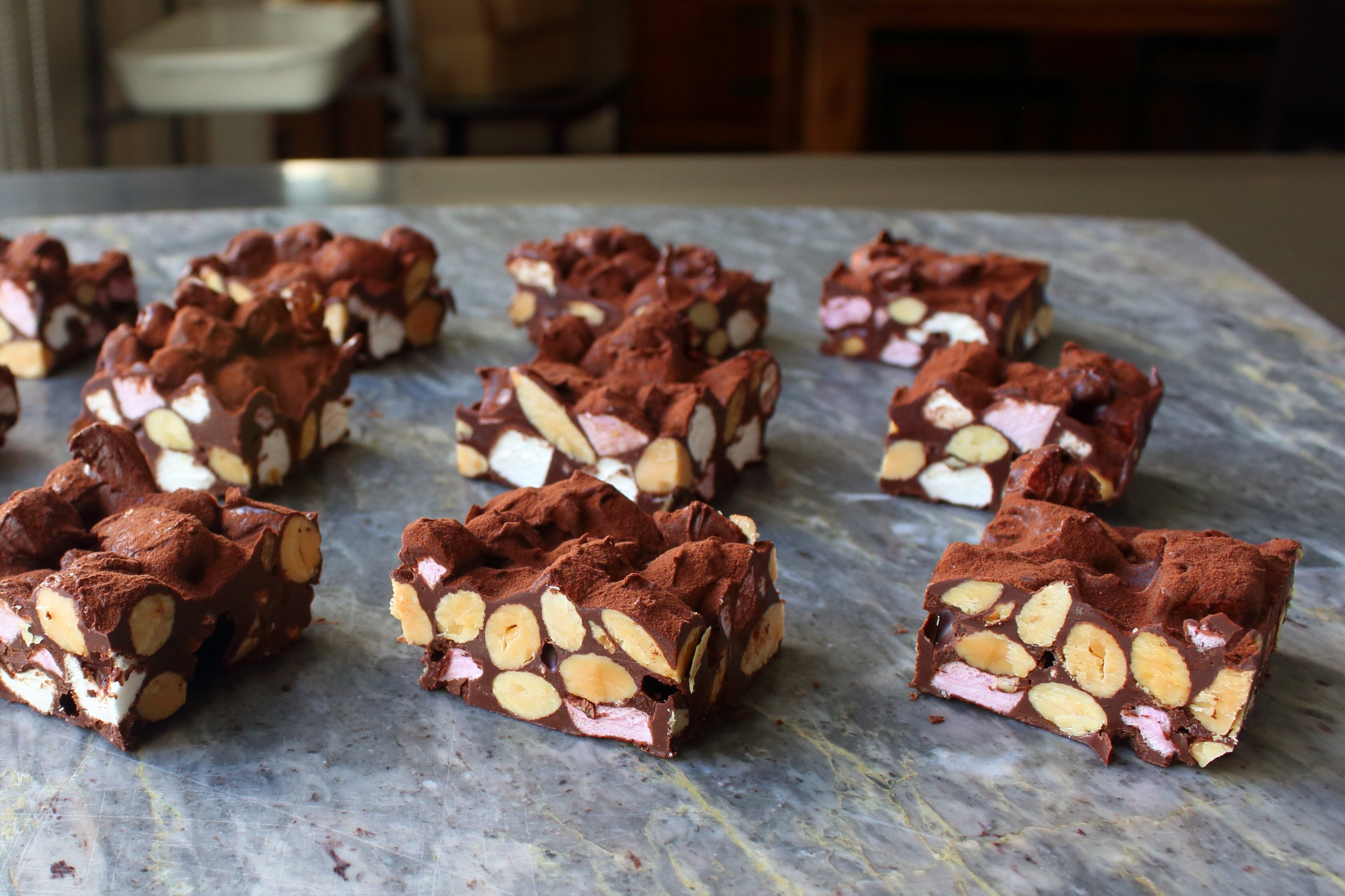 chef johns rocky road