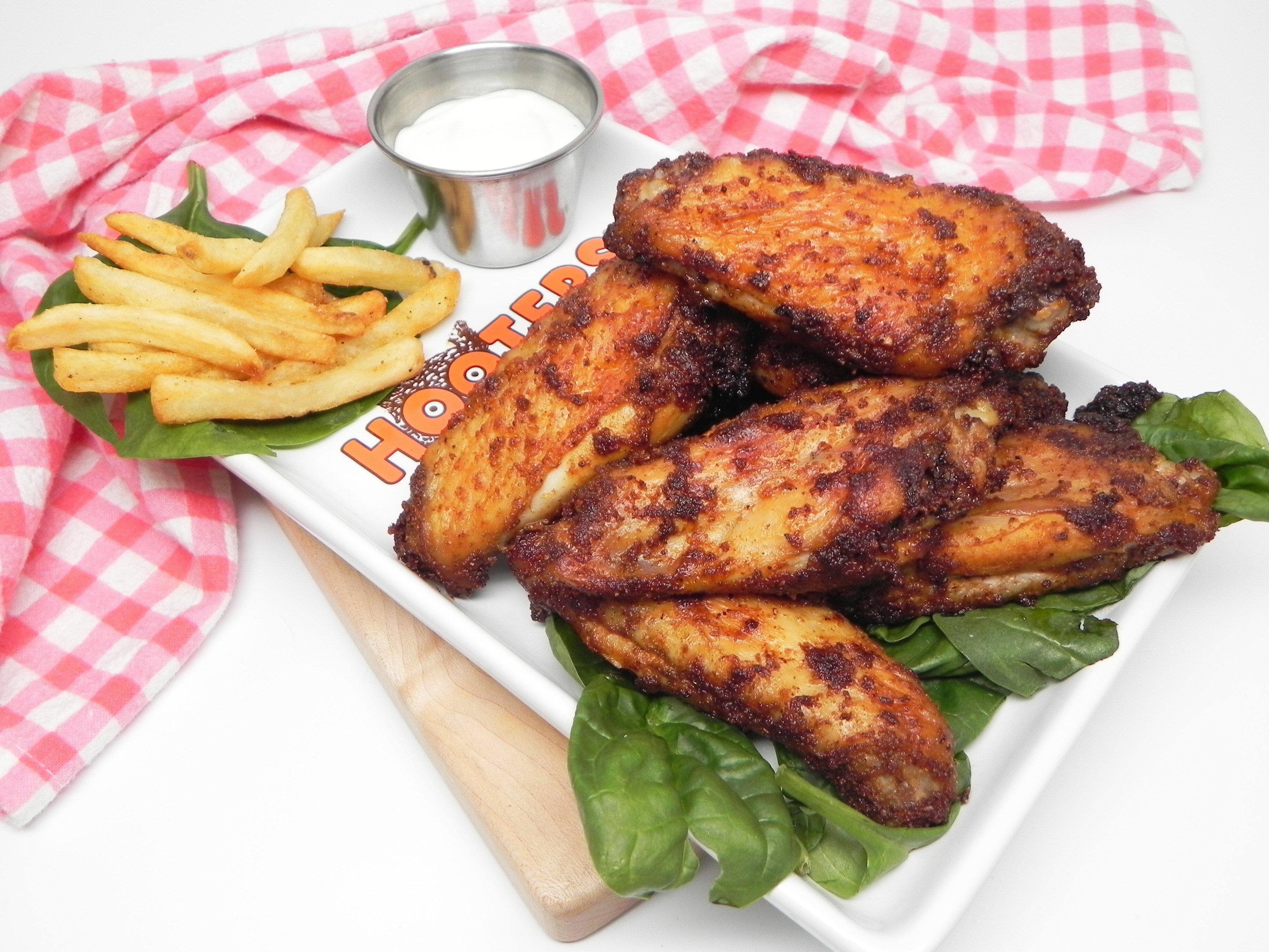 spicy air fryer wings