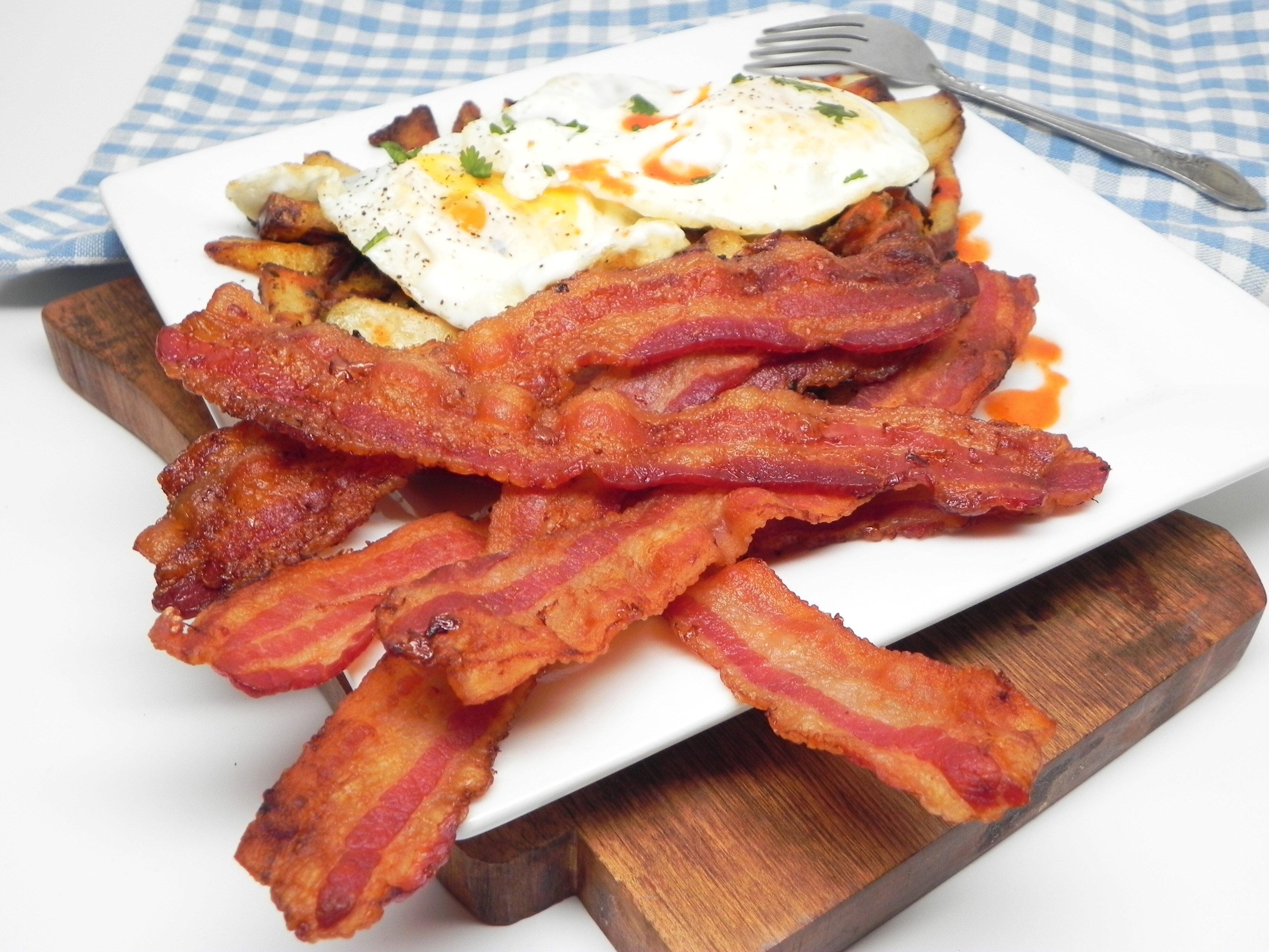 crispy oven baked bacon