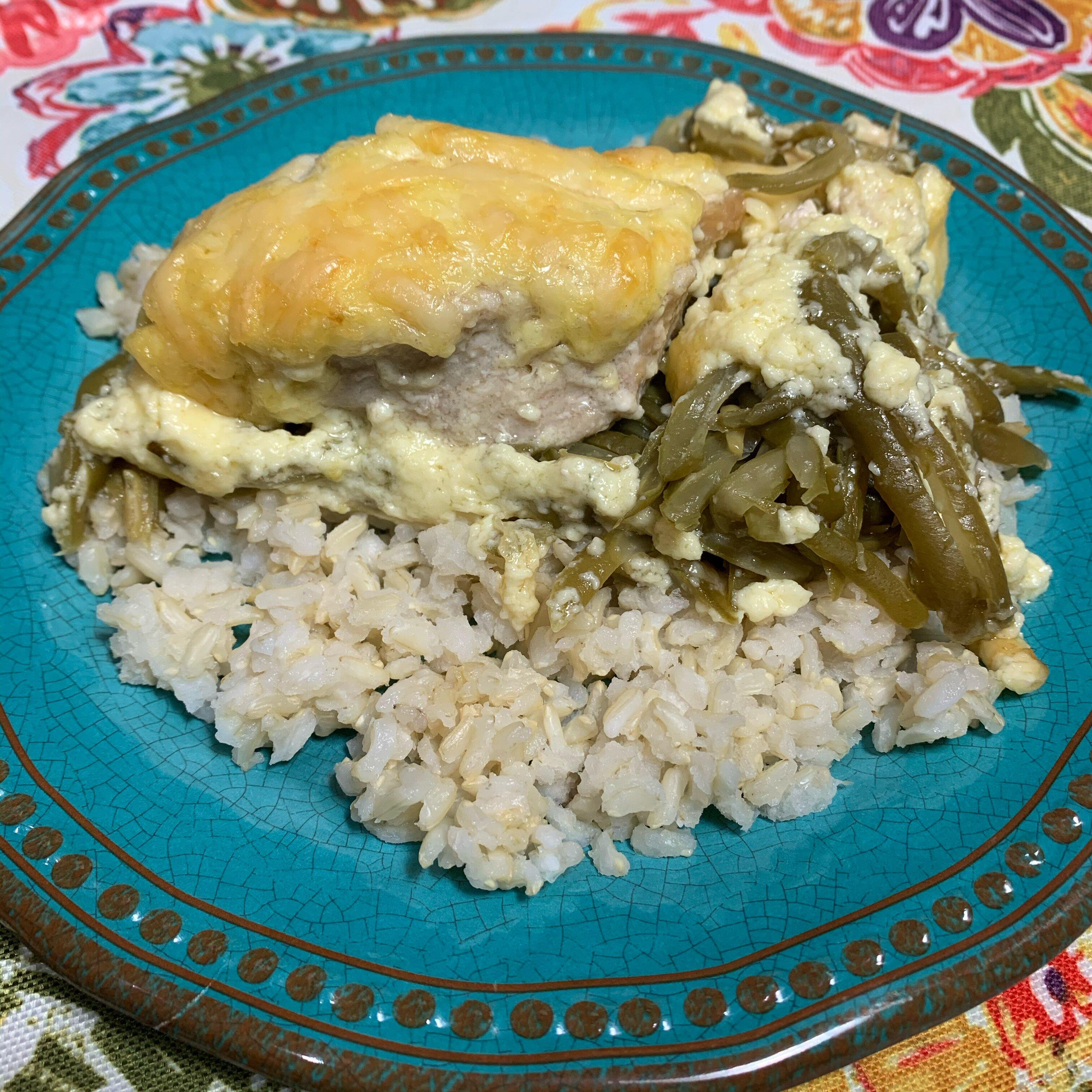 chicken and green bean casserole recipe