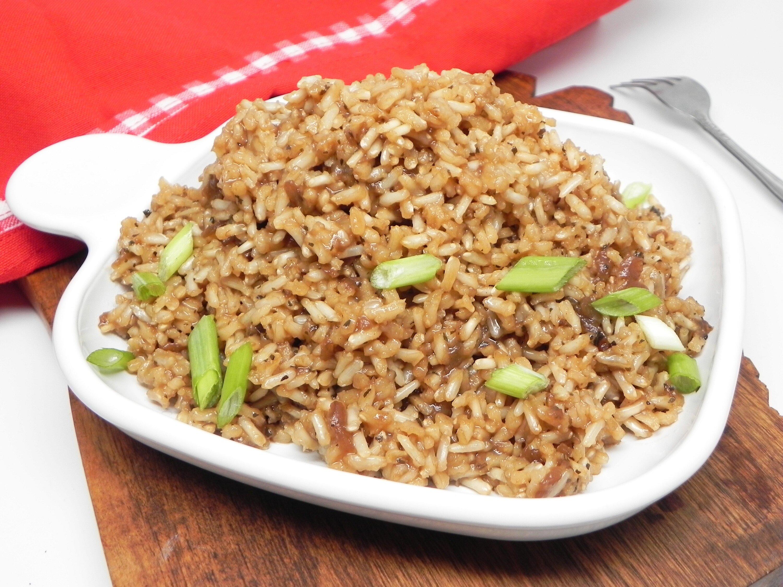 brown rice recipe
