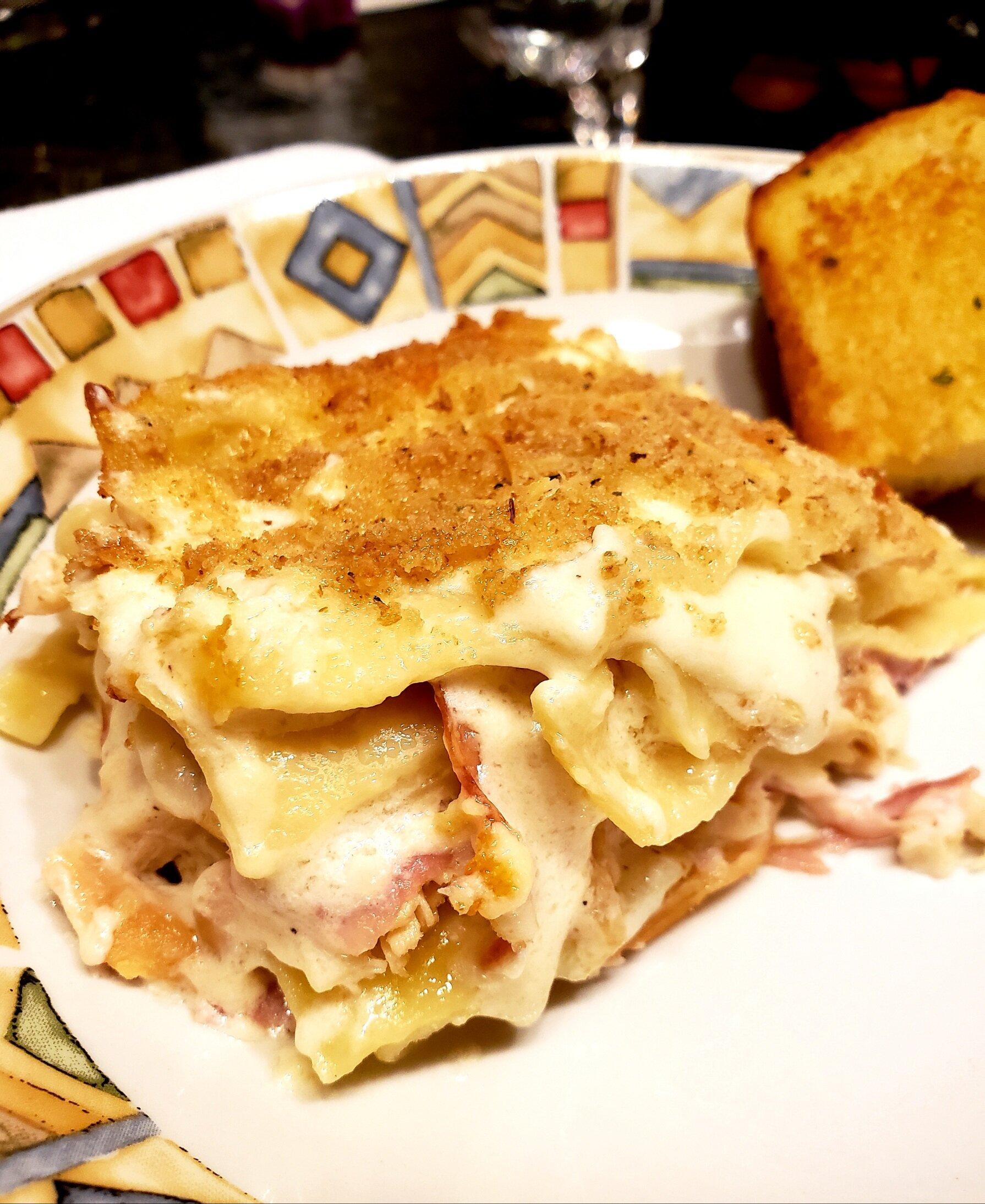 chicken cordon bleu lasagna recipe