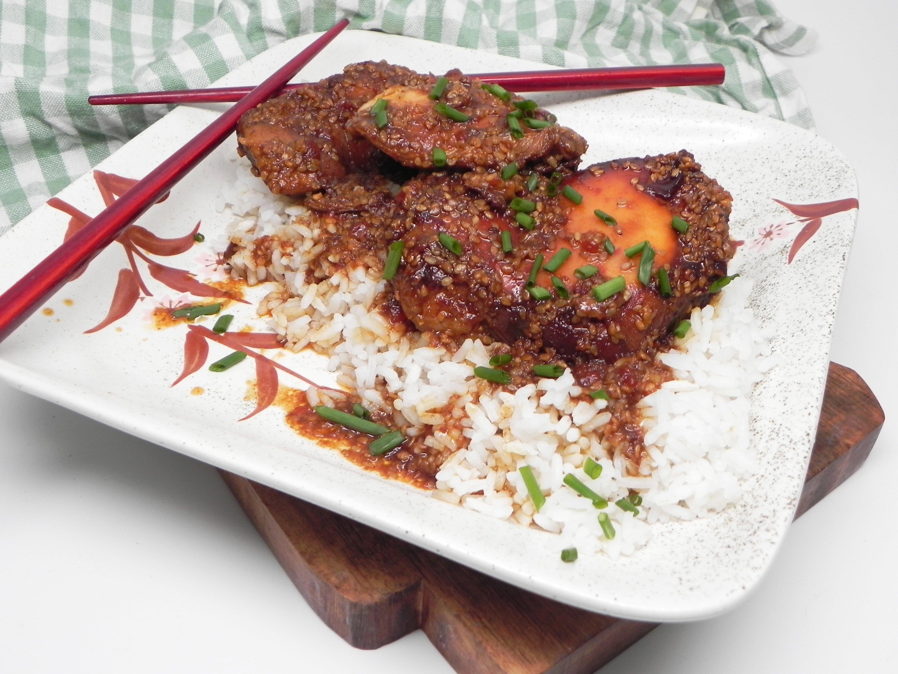 Slow Cooker Sesame Chicken Thighs Allrecipes