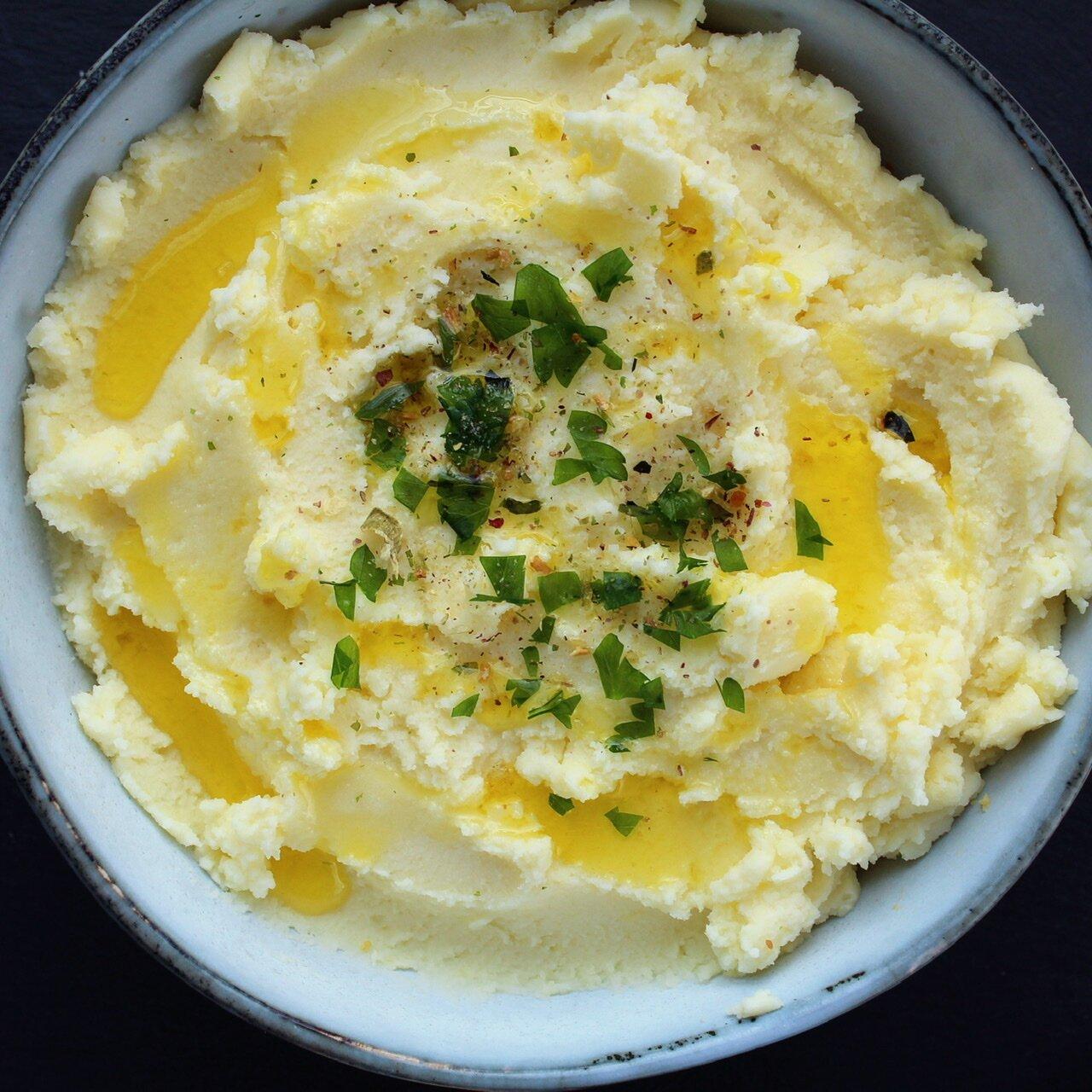 jens creamy garlic mashed potatoes recipe