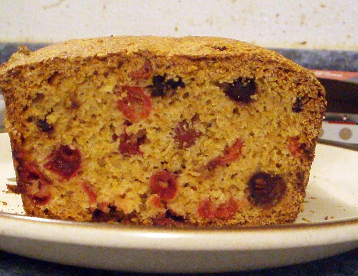 grandmothers famous cranberry bread recipe
