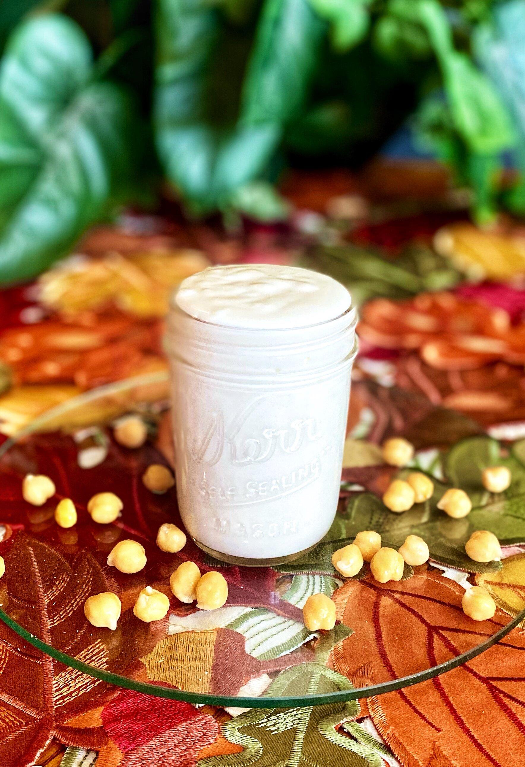 aquafaba mayonnaise