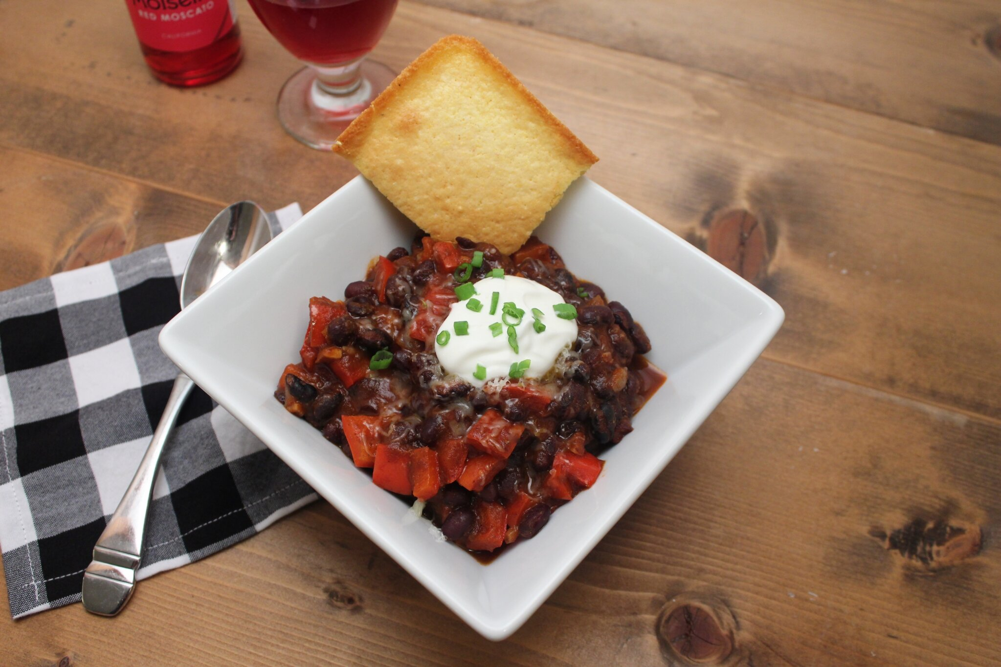 vegetarian chili with black beans