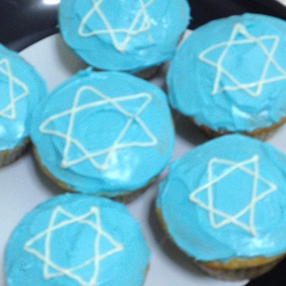 halfway healthy hanukkah cupcakes recipe