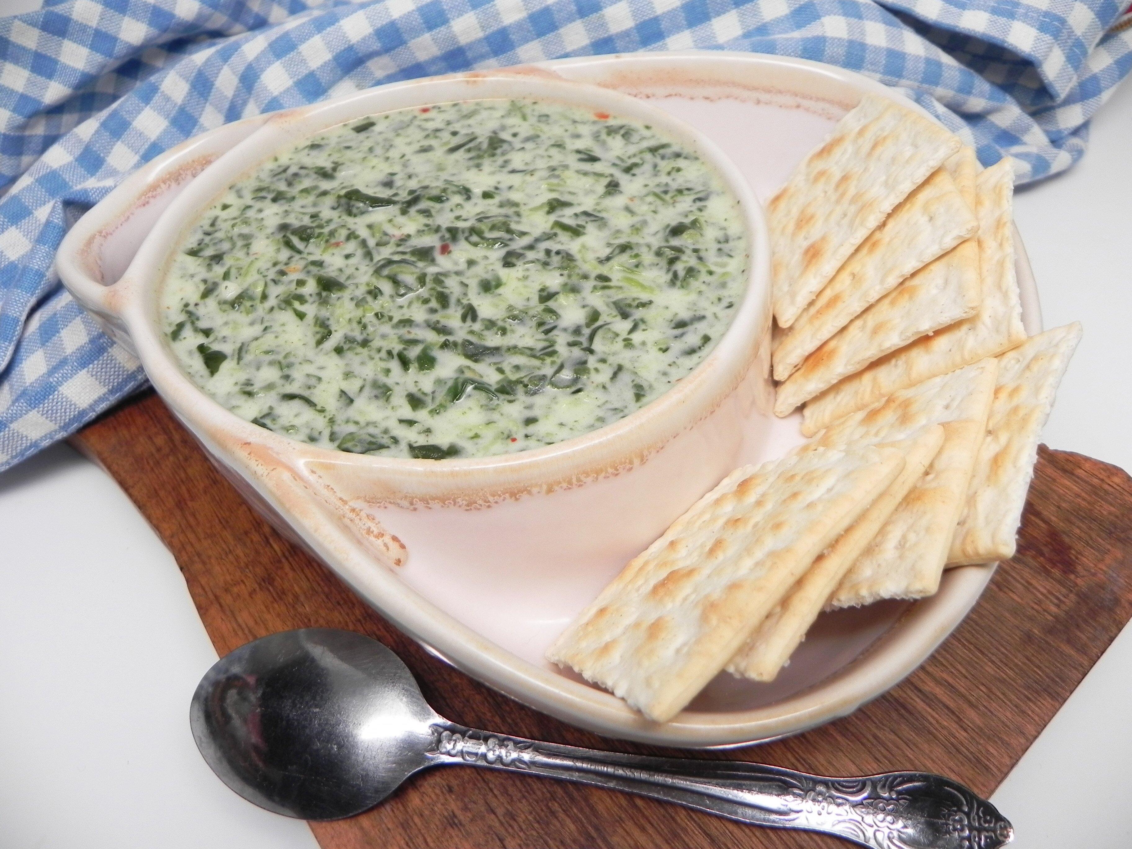 cream of spinach soup recipe