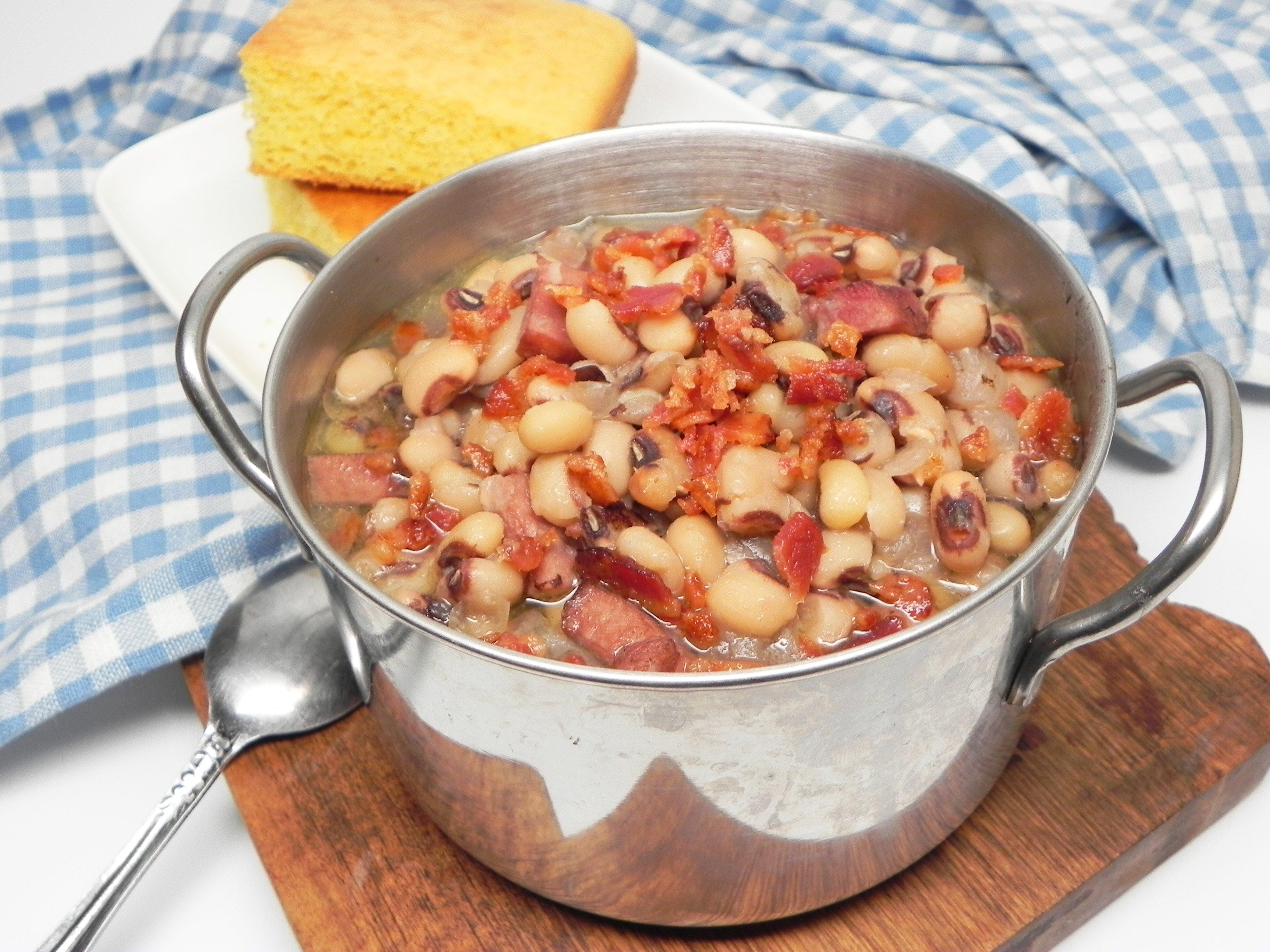 daves georgia black eyed peas recipe