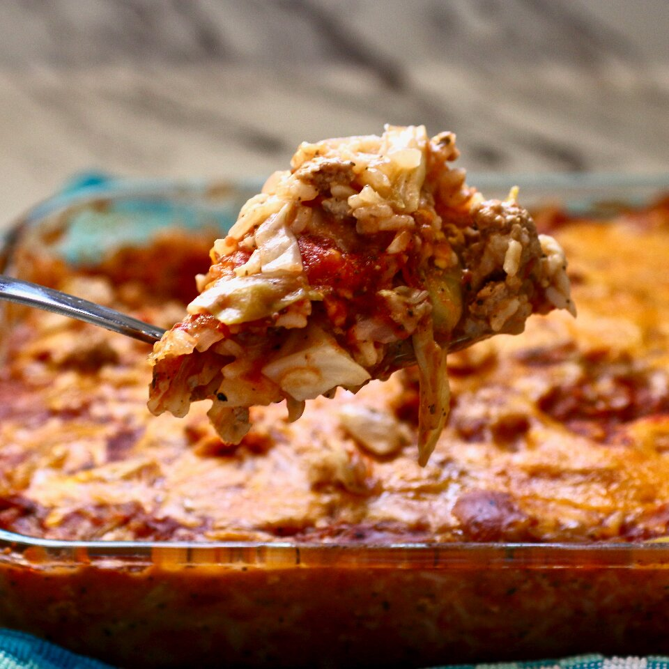 instant pot cabbage roll casserole