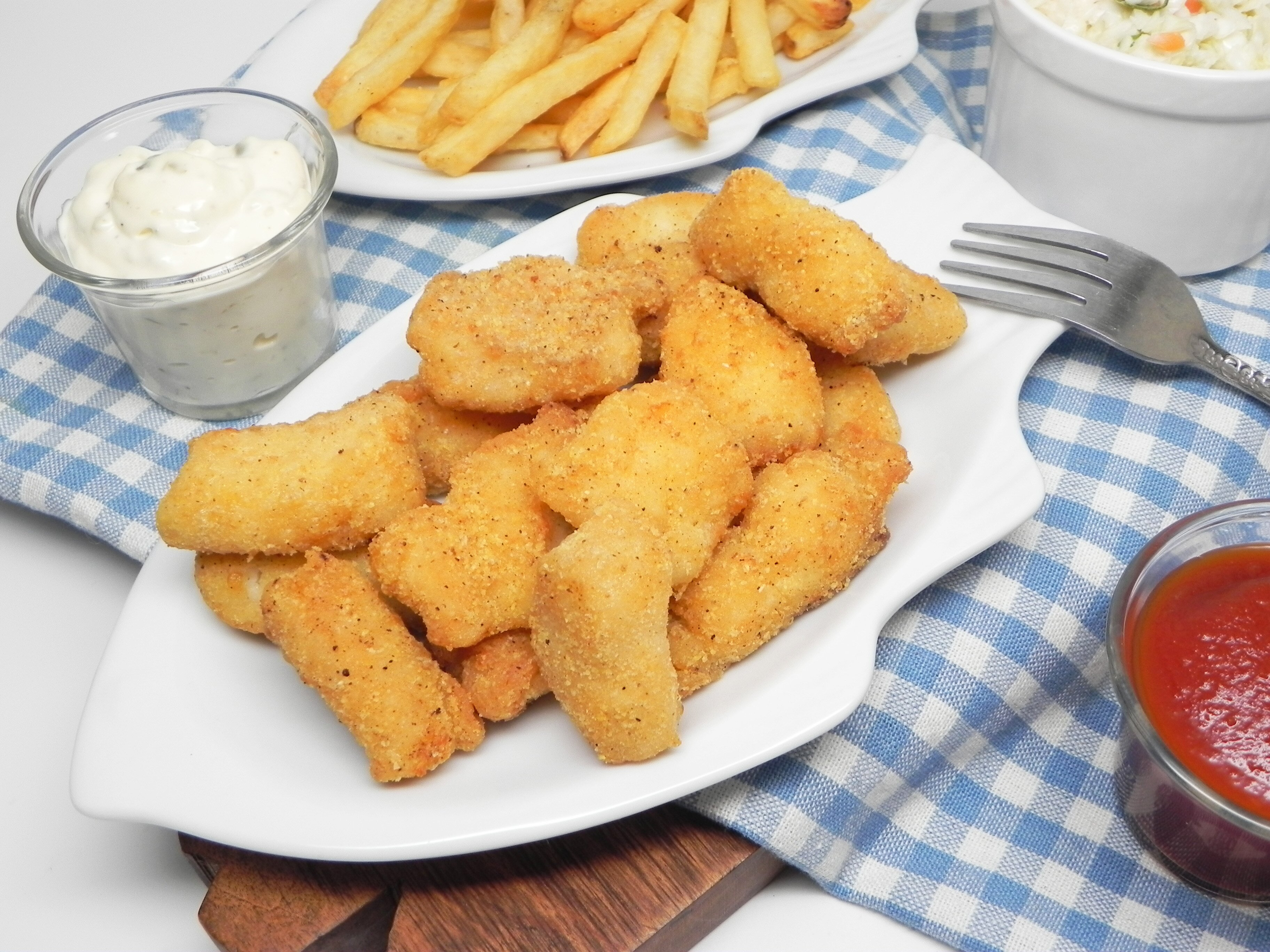 air fryer catfish nuggets