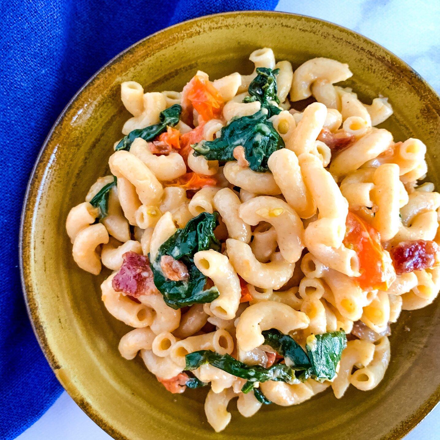 blt pasta carbonara recipe