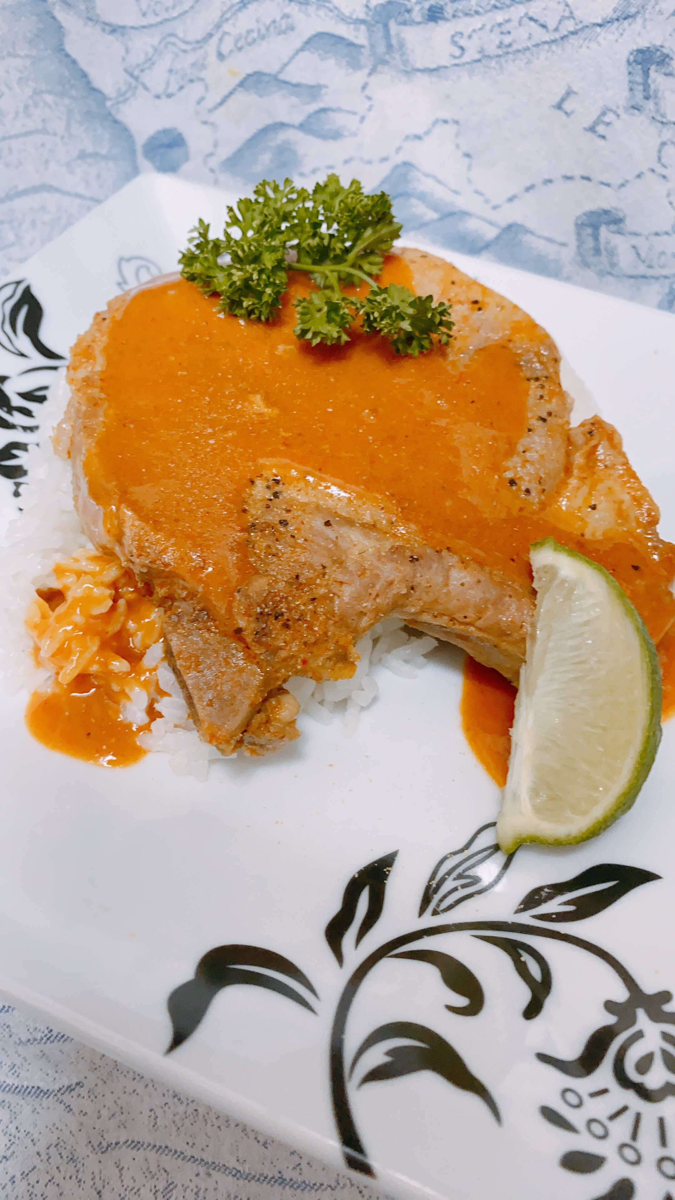 instant pot coconut curry pork chops
