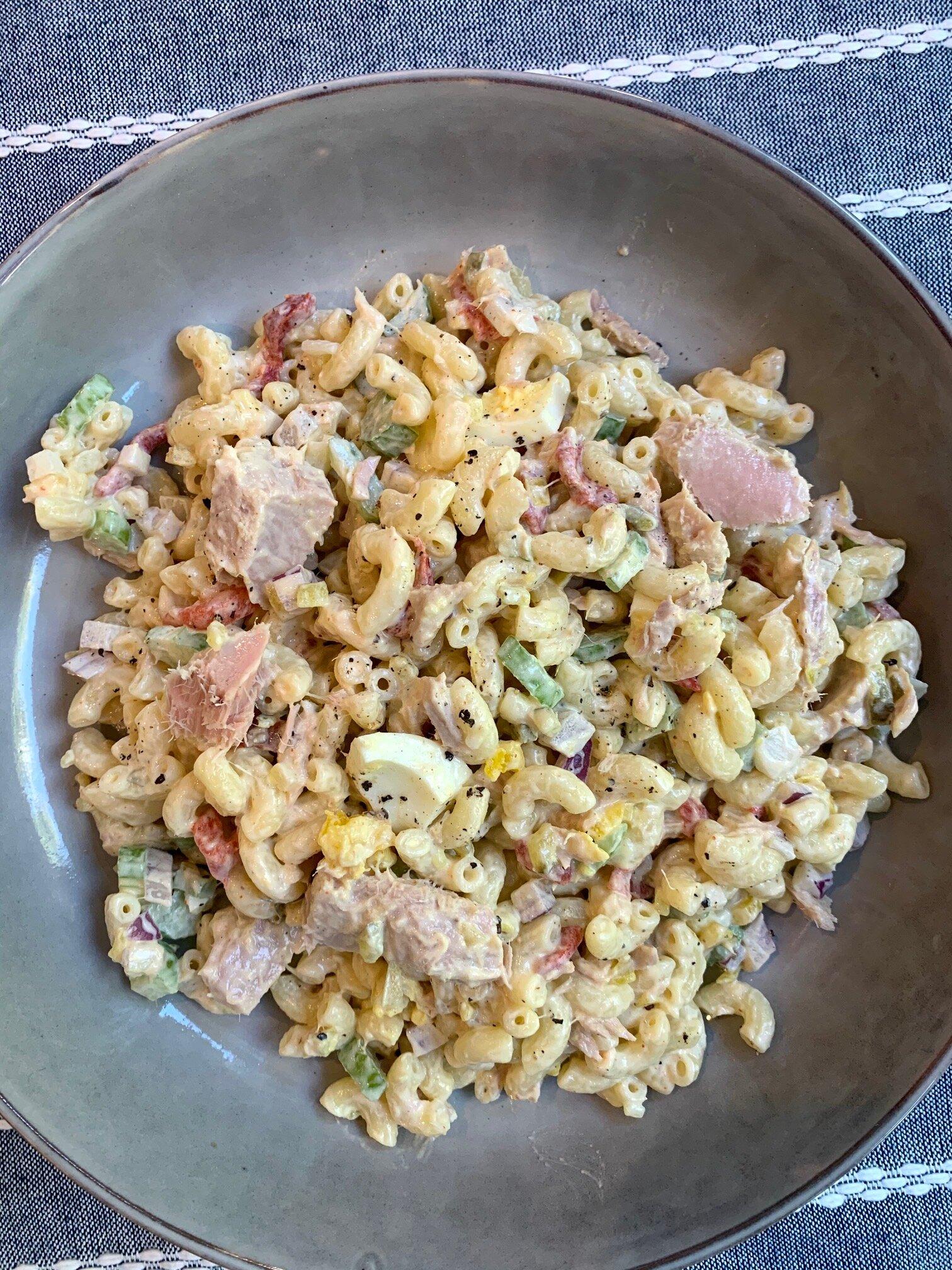 southern tuna macaroni salad