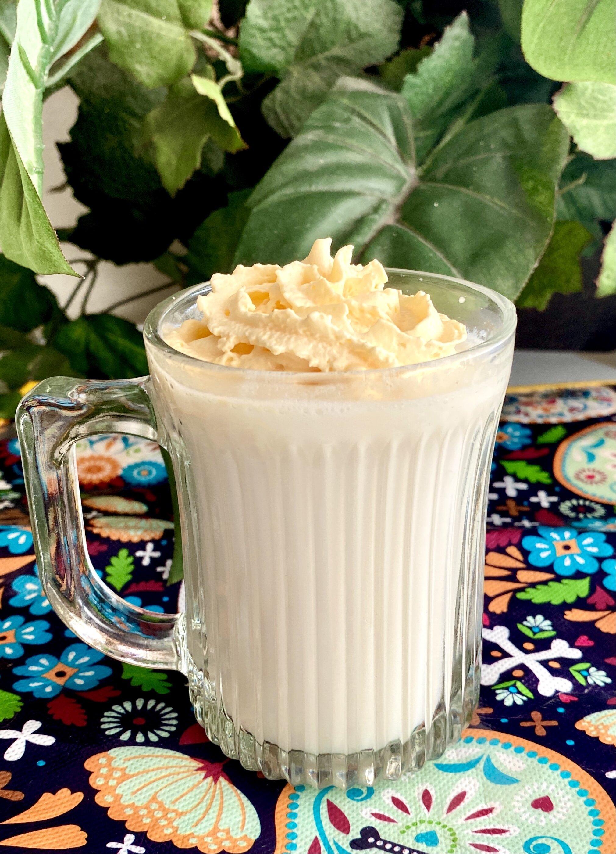 homemade white hot chocolate recipe
