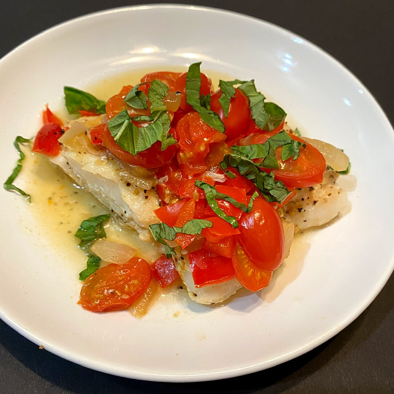 baked cod in foil recipe