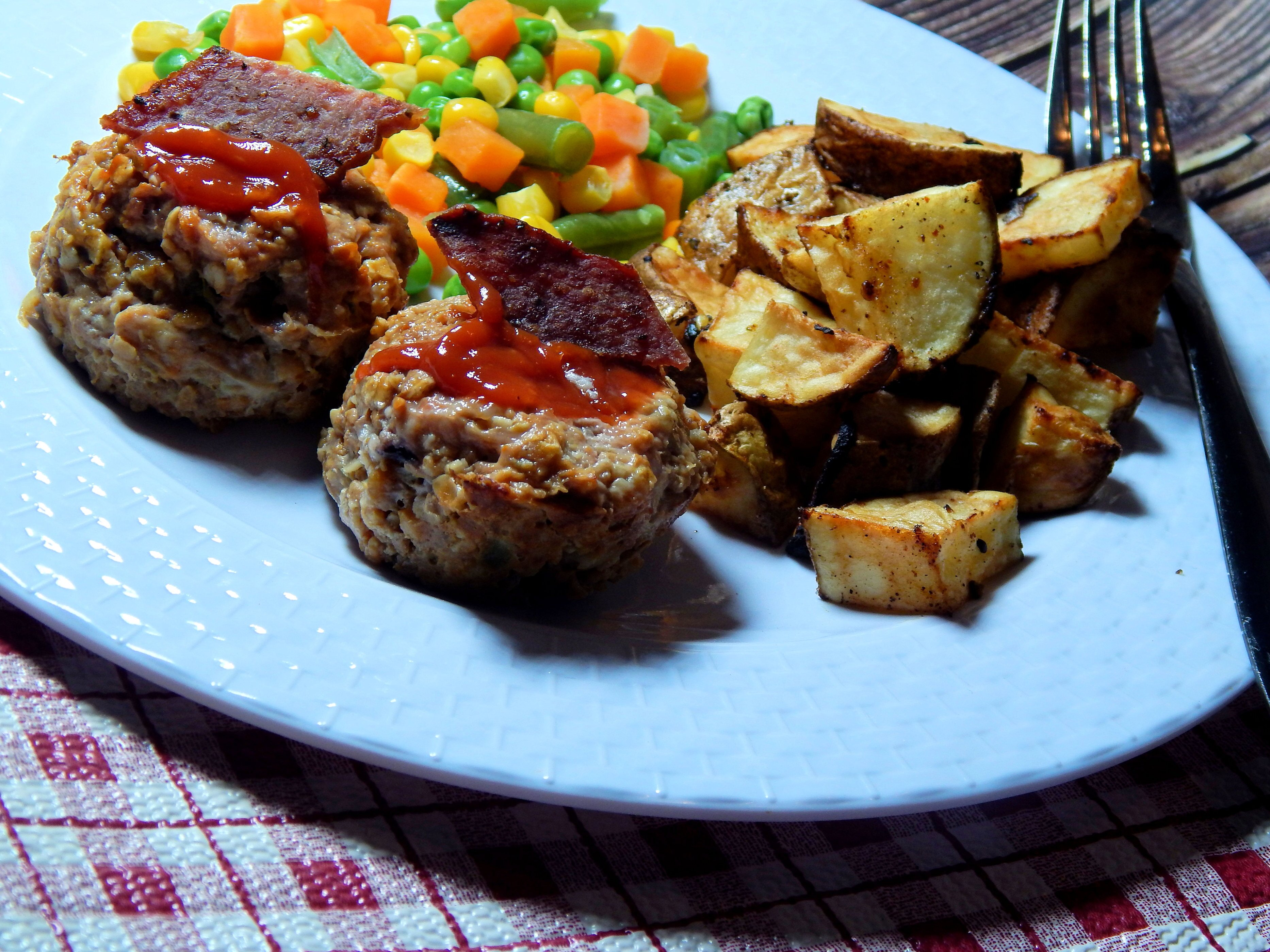 meatloaf muffins with oats recipe