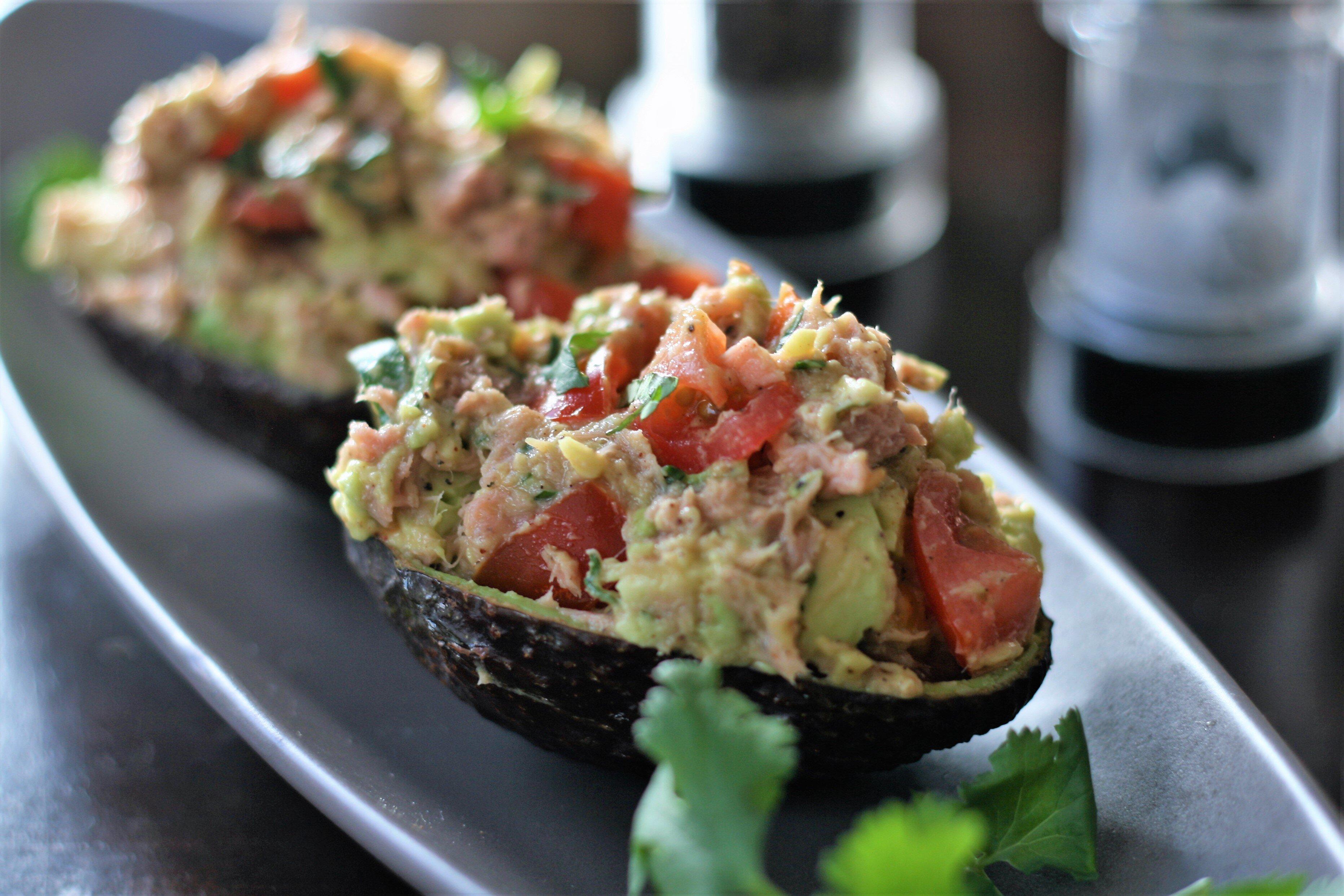 tuna avocado salad recipe