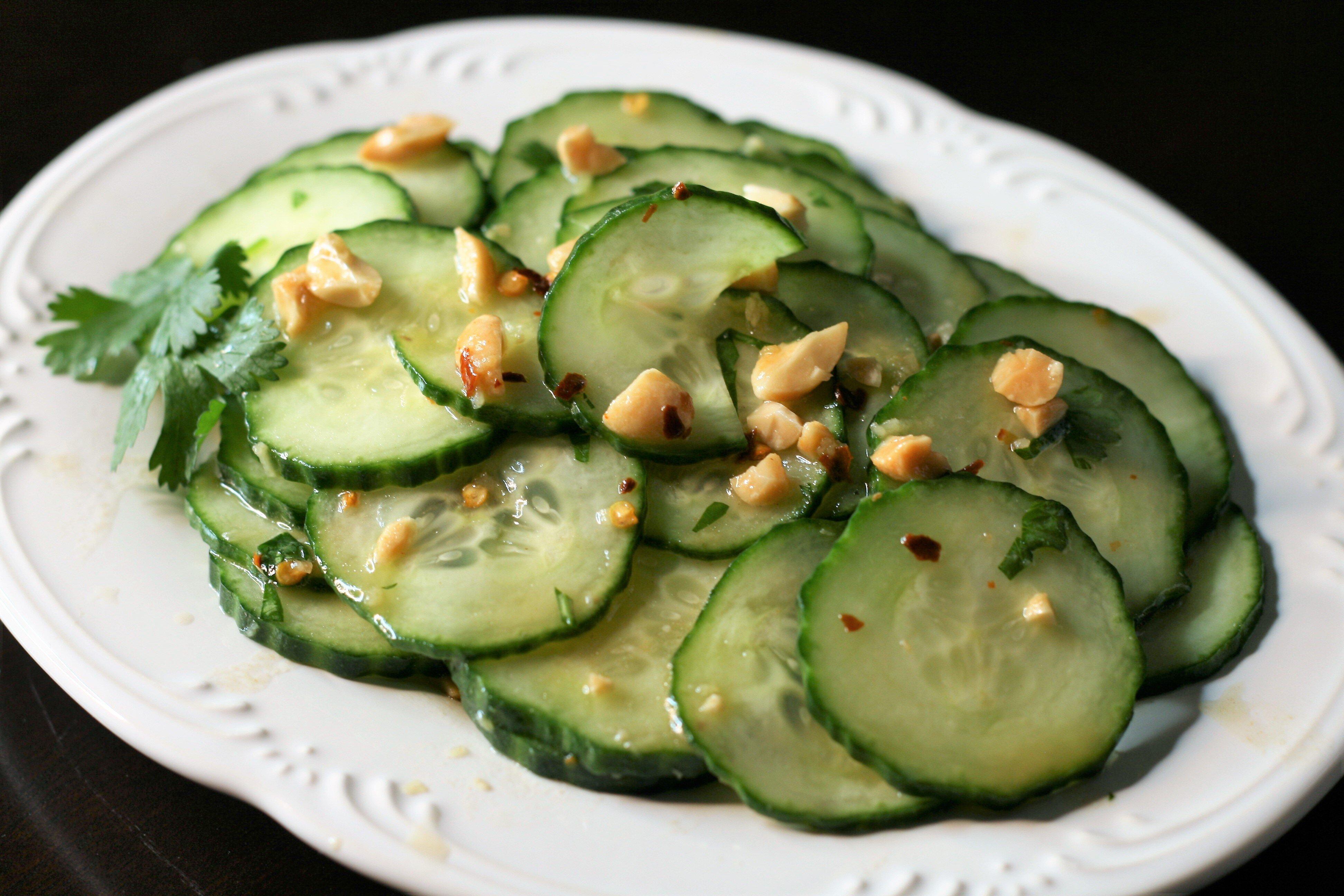 thai style cucumber salad recipe