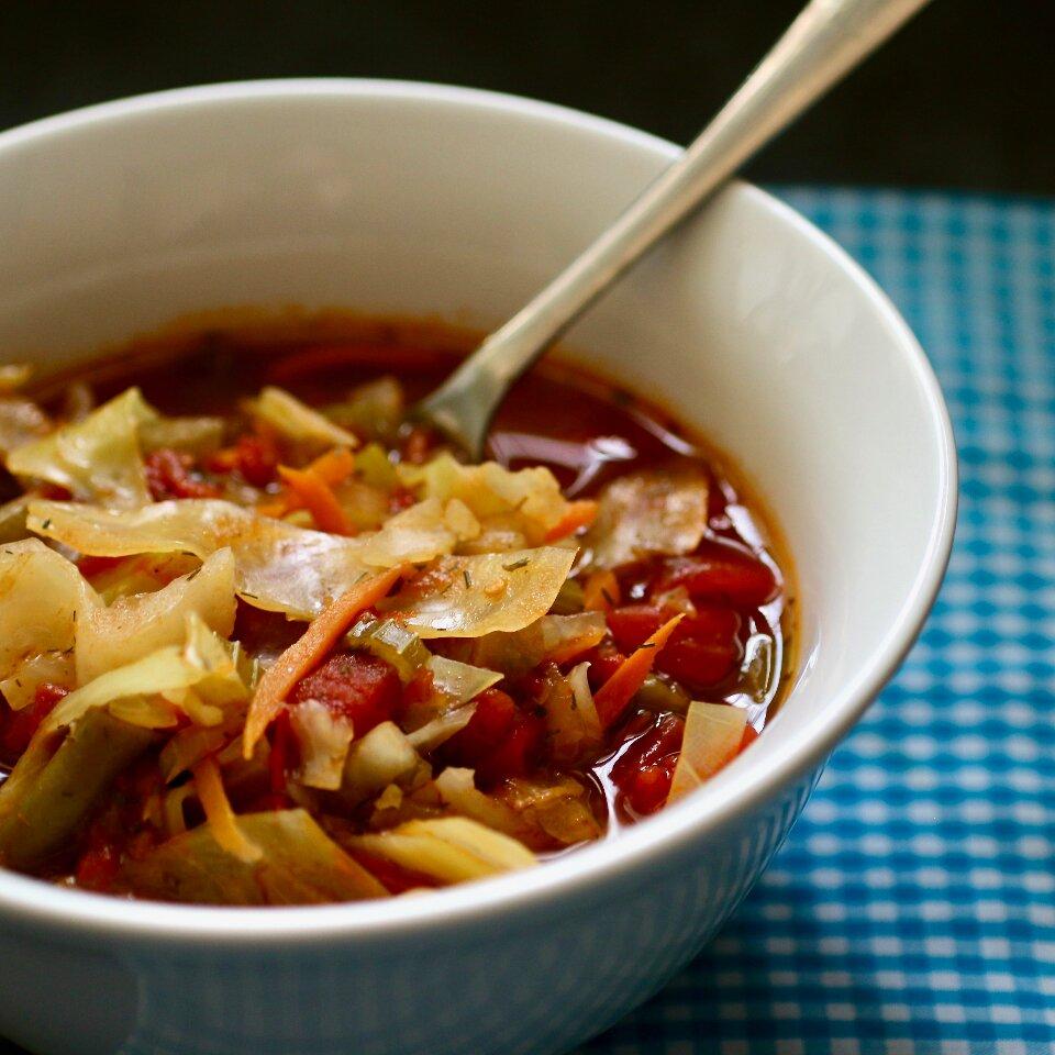 instant pot vegetarian cabbage soup