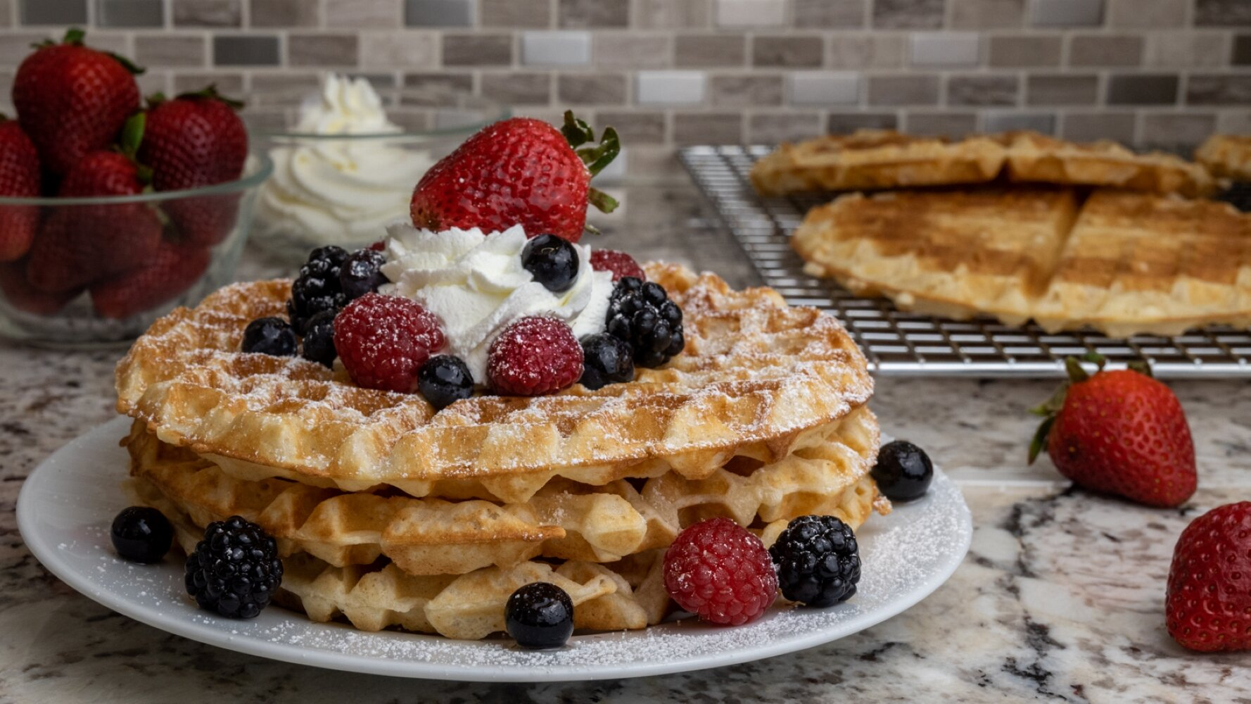 swedish crisp waffles frasvafflor