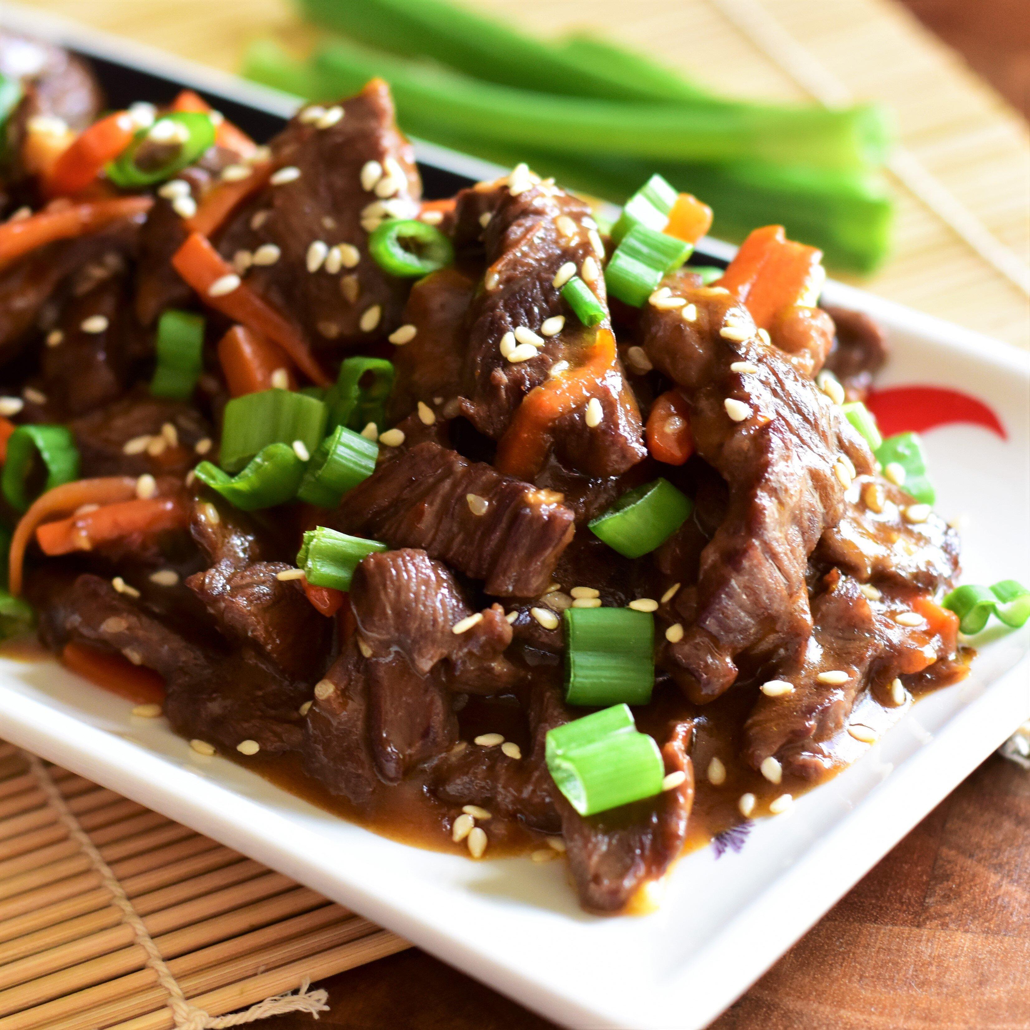 mongolian beef i recipe
