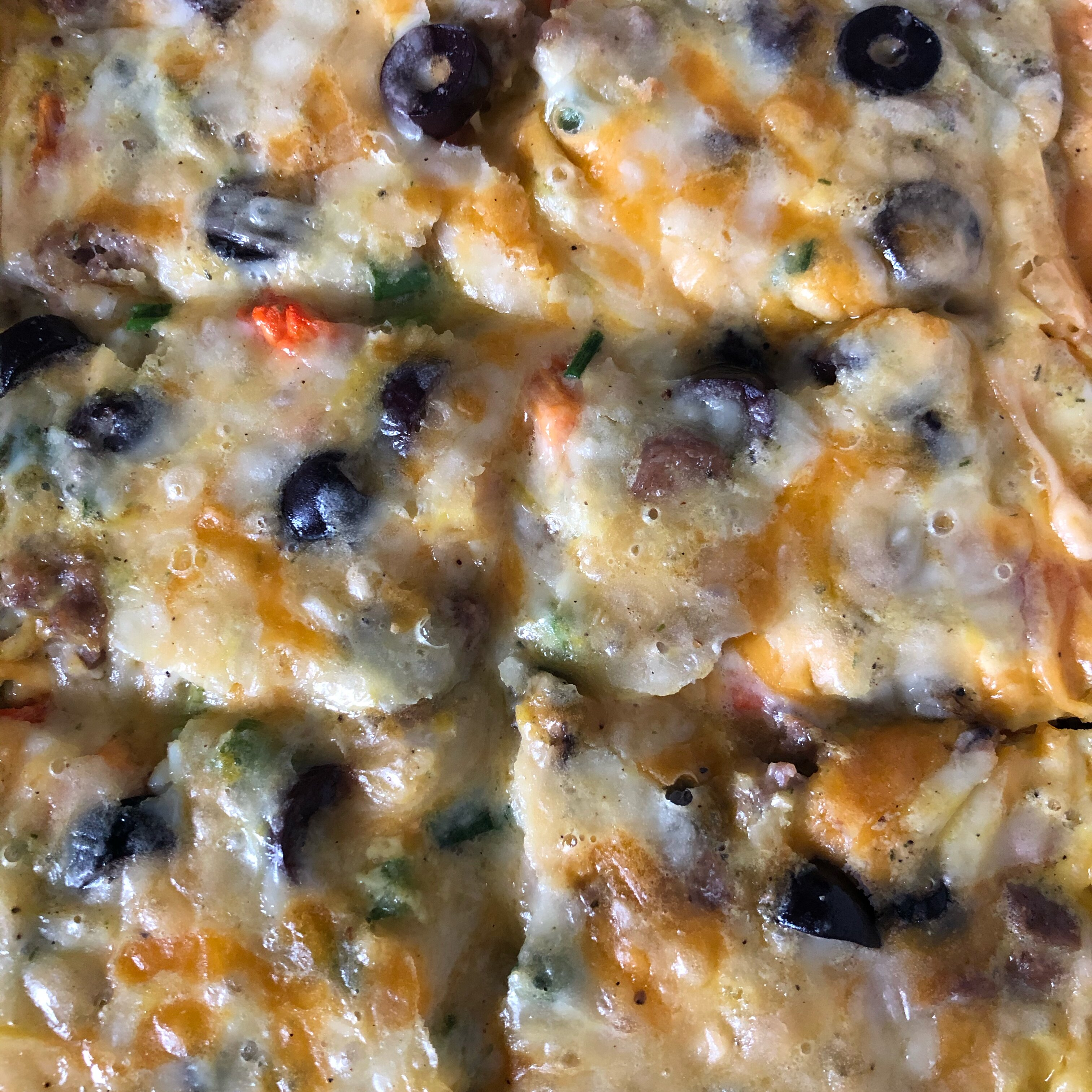 christmas breakfast pizza recipe