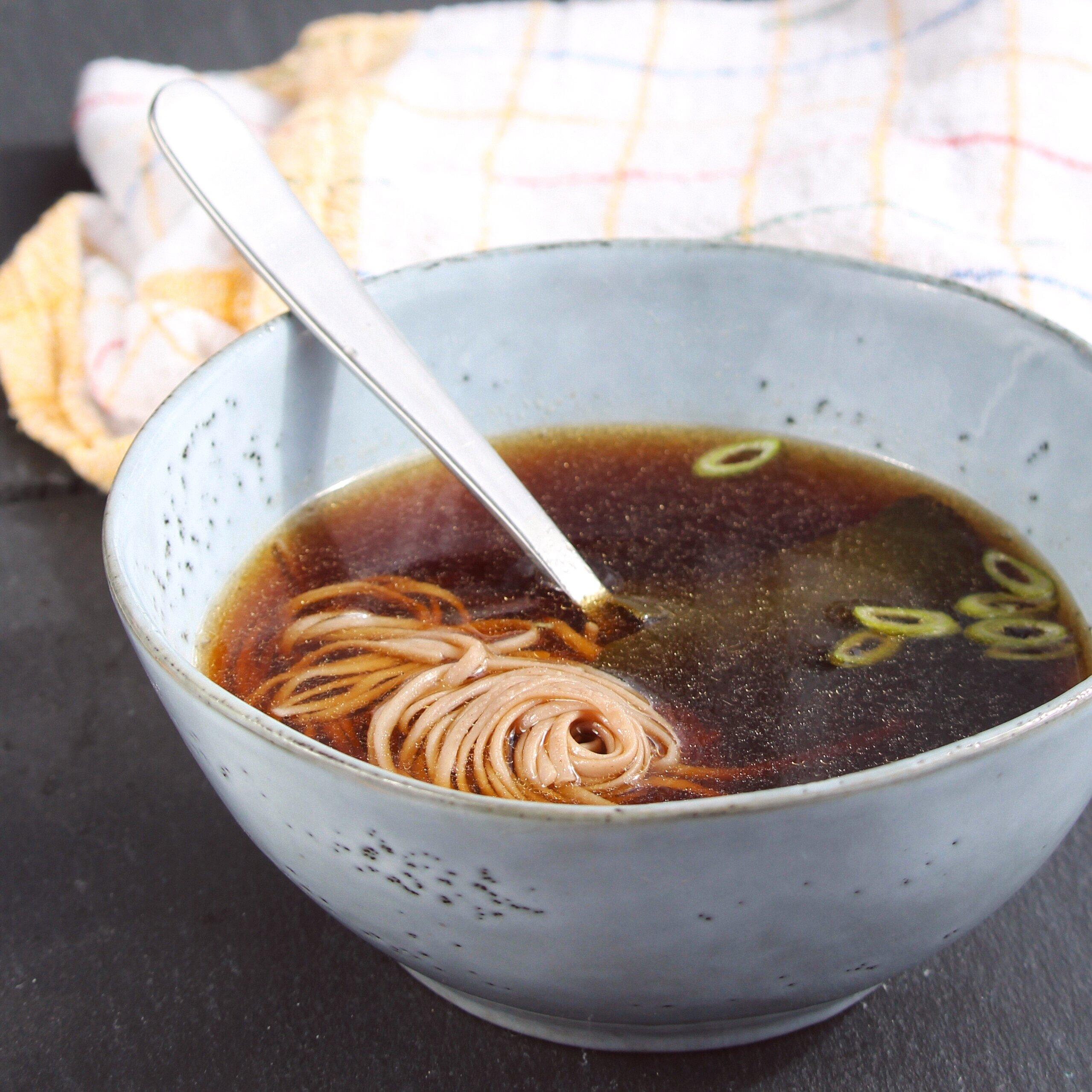 basic vegan japanese dashi soup stock recipe recipe