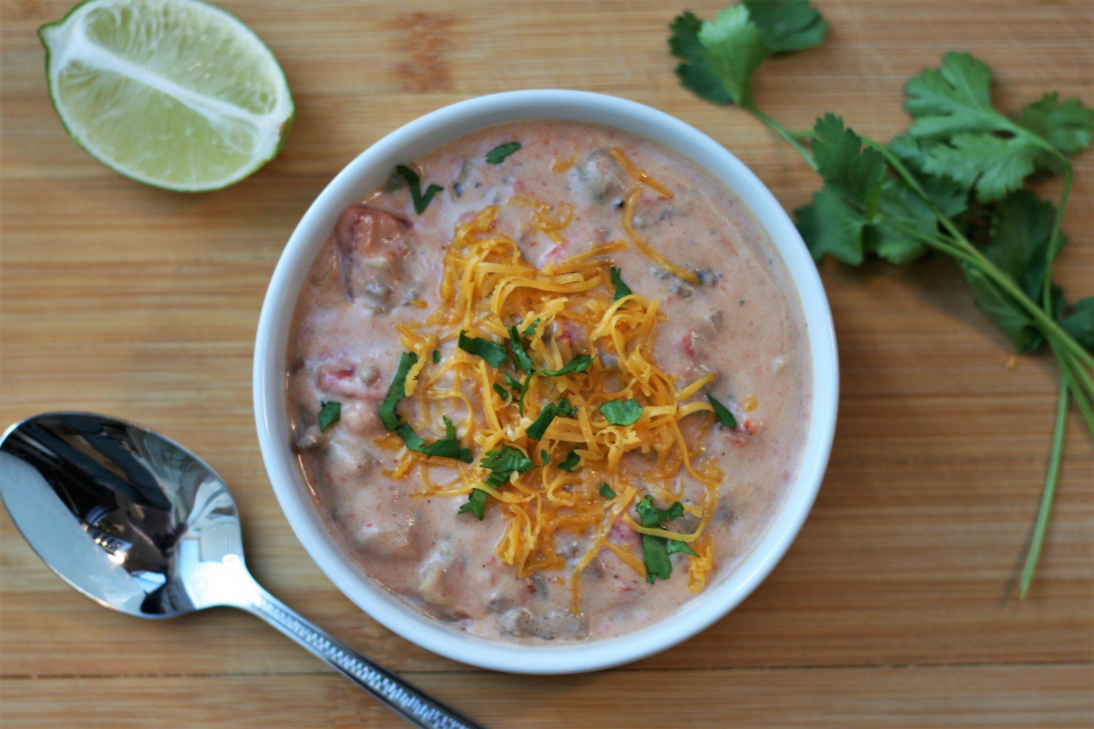 low carb taco soup recipe
