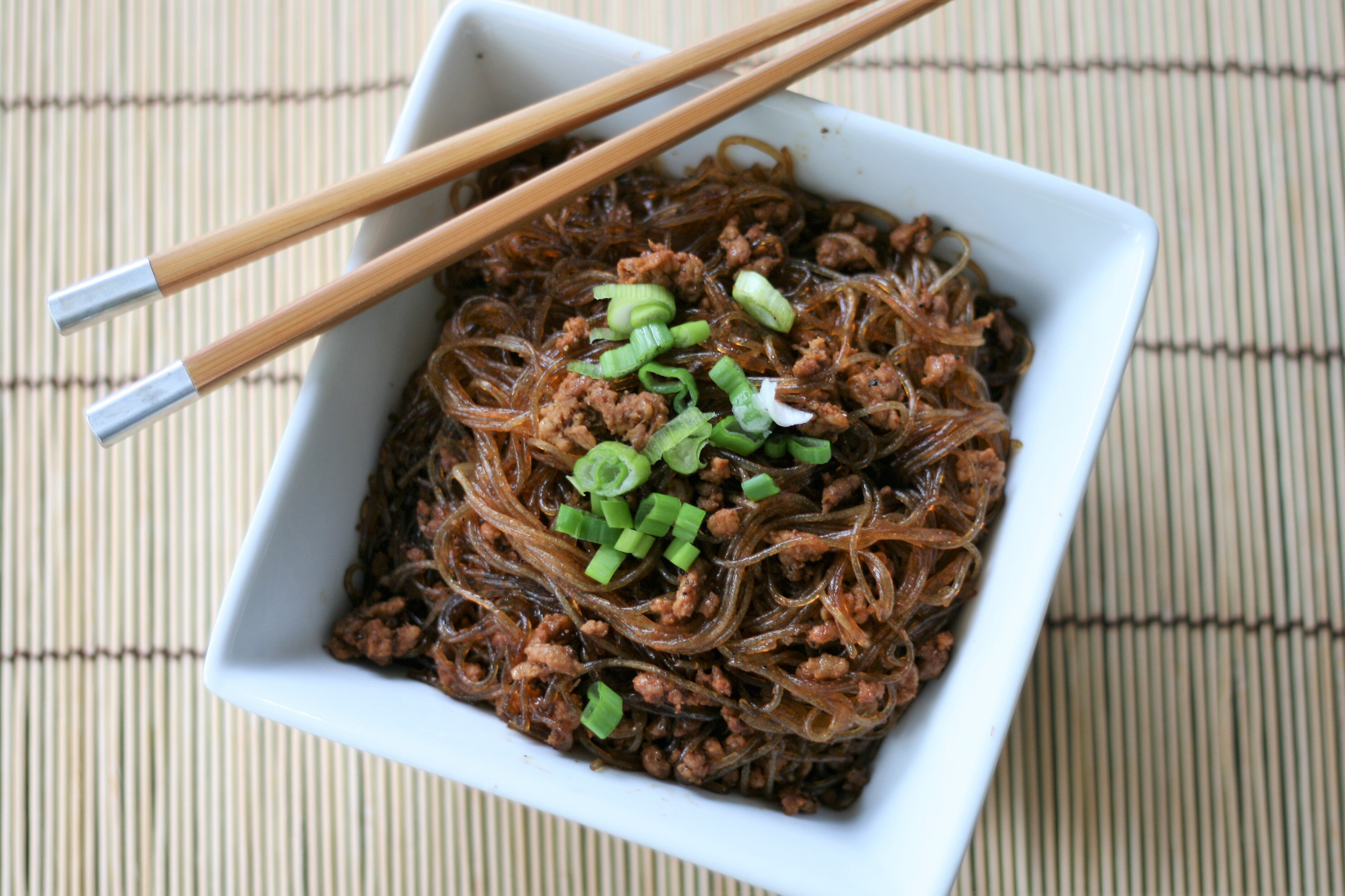 ants climbing a tree sichuan spicy vermicelli stir fry