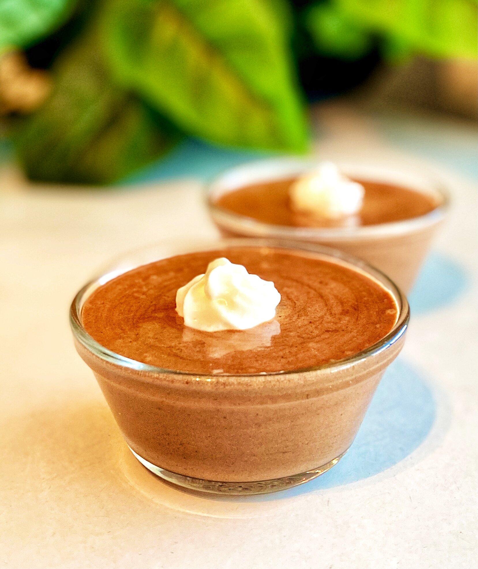 vegan chocolate mousse with aquafaba recipe
