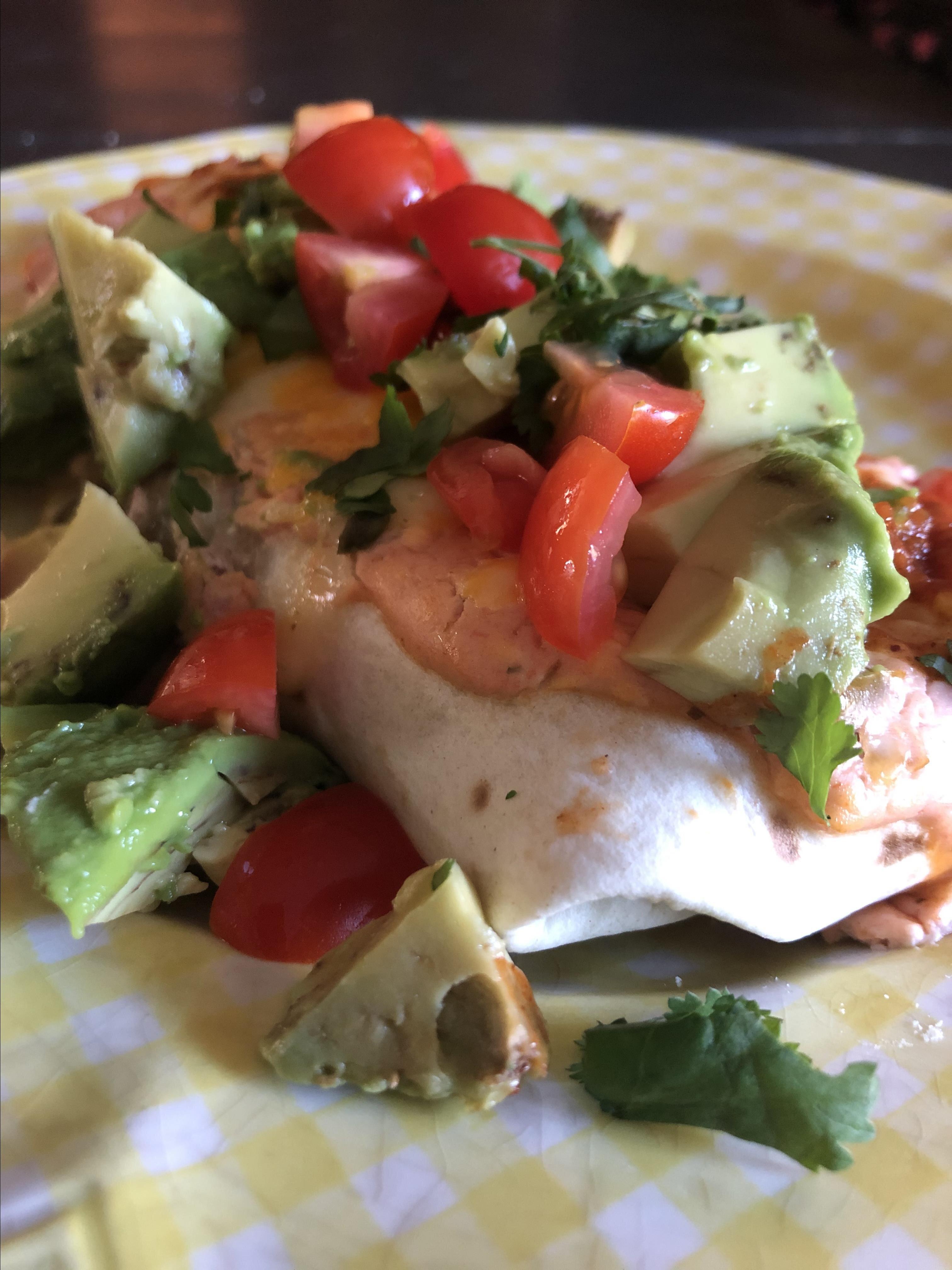 vegetarian spinach and mushroom enchiladas recipe
