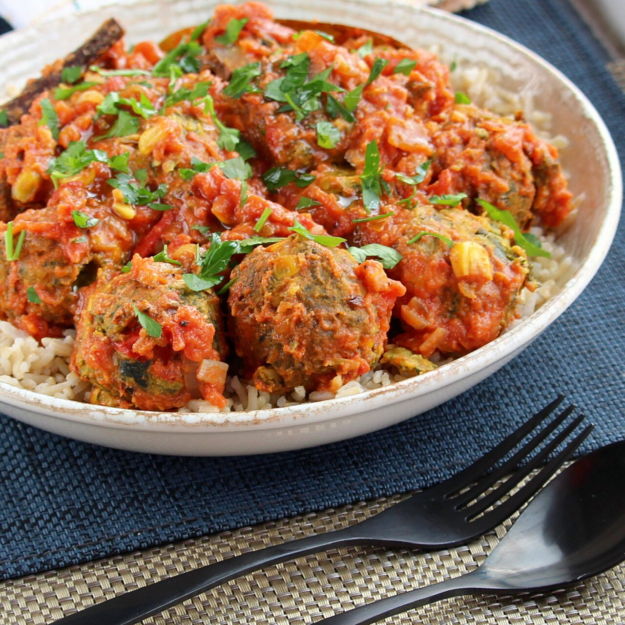 easy vegetarian kofta curry recipe