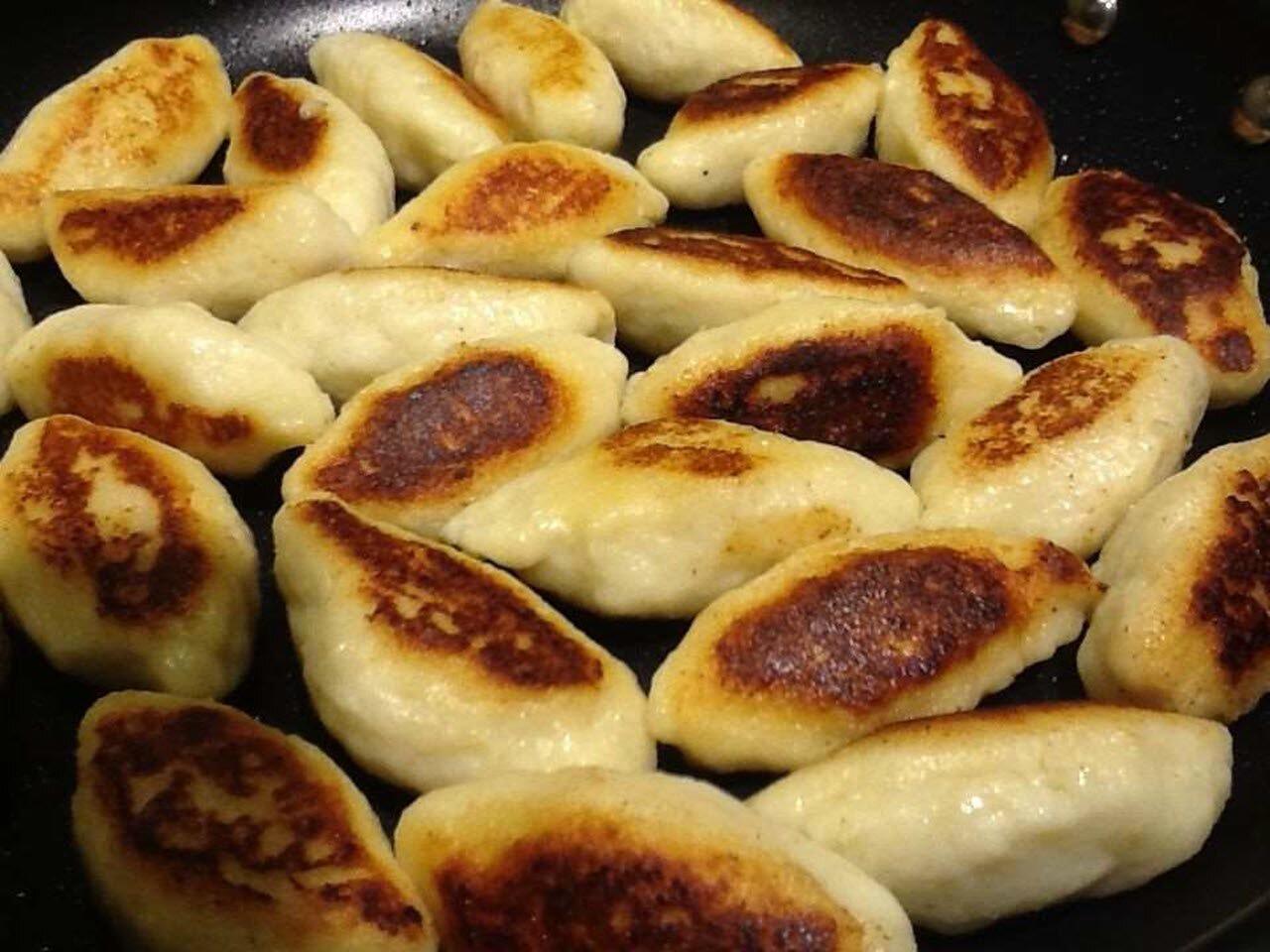 schupfnudeln german fried potato dumplings