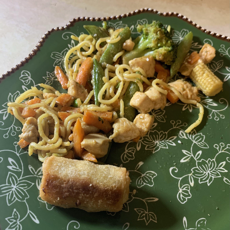 frozen vegetable stir fry recipe