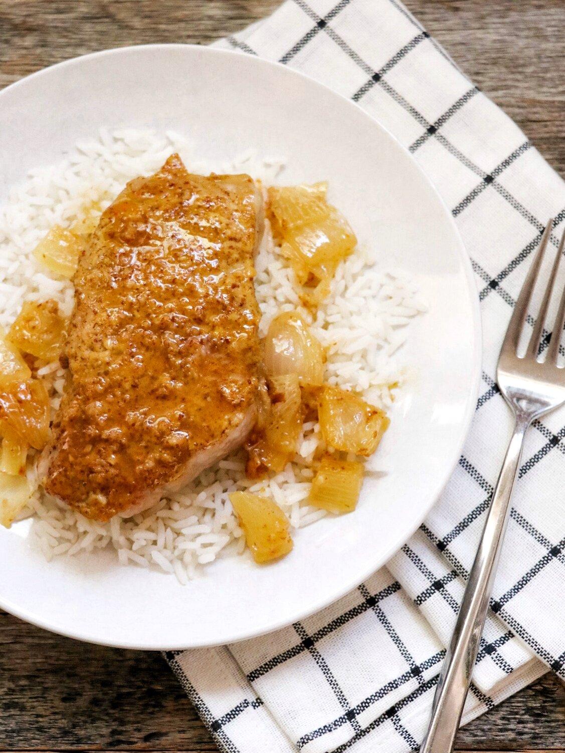 easy baked pork chops recipe