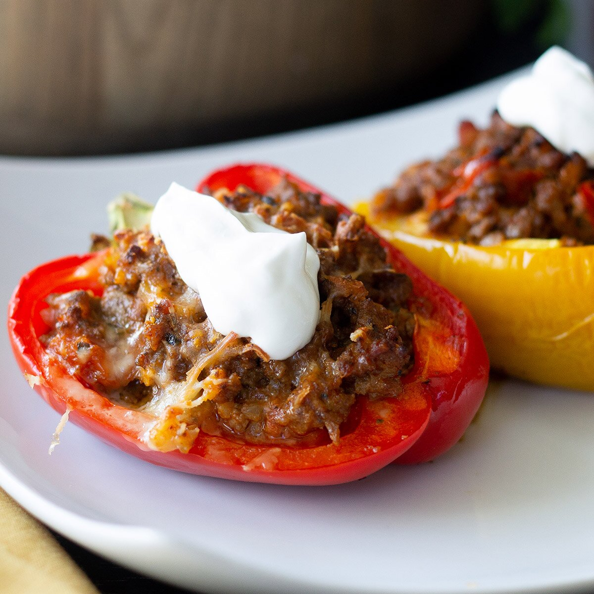 keto stuffed bell peppers