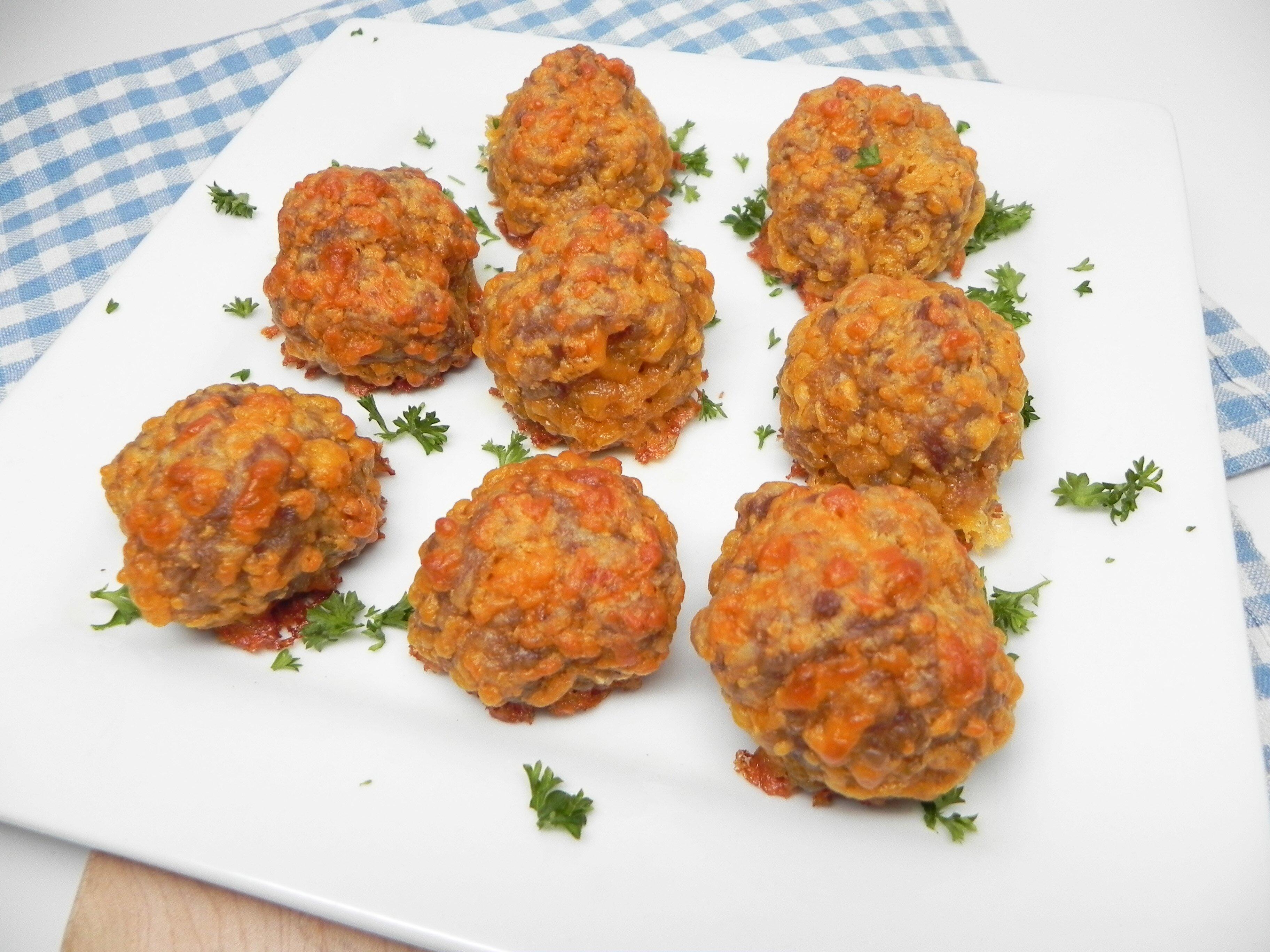 sausage balls with flour recipe