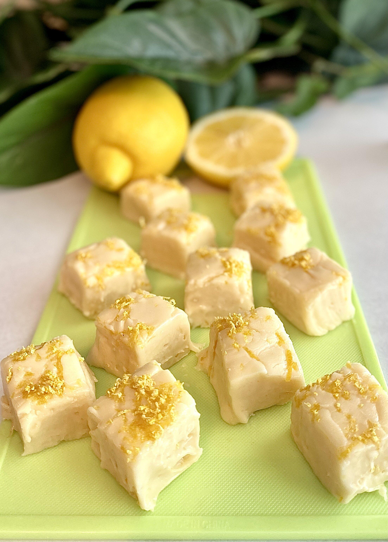 freezer lemon fudge