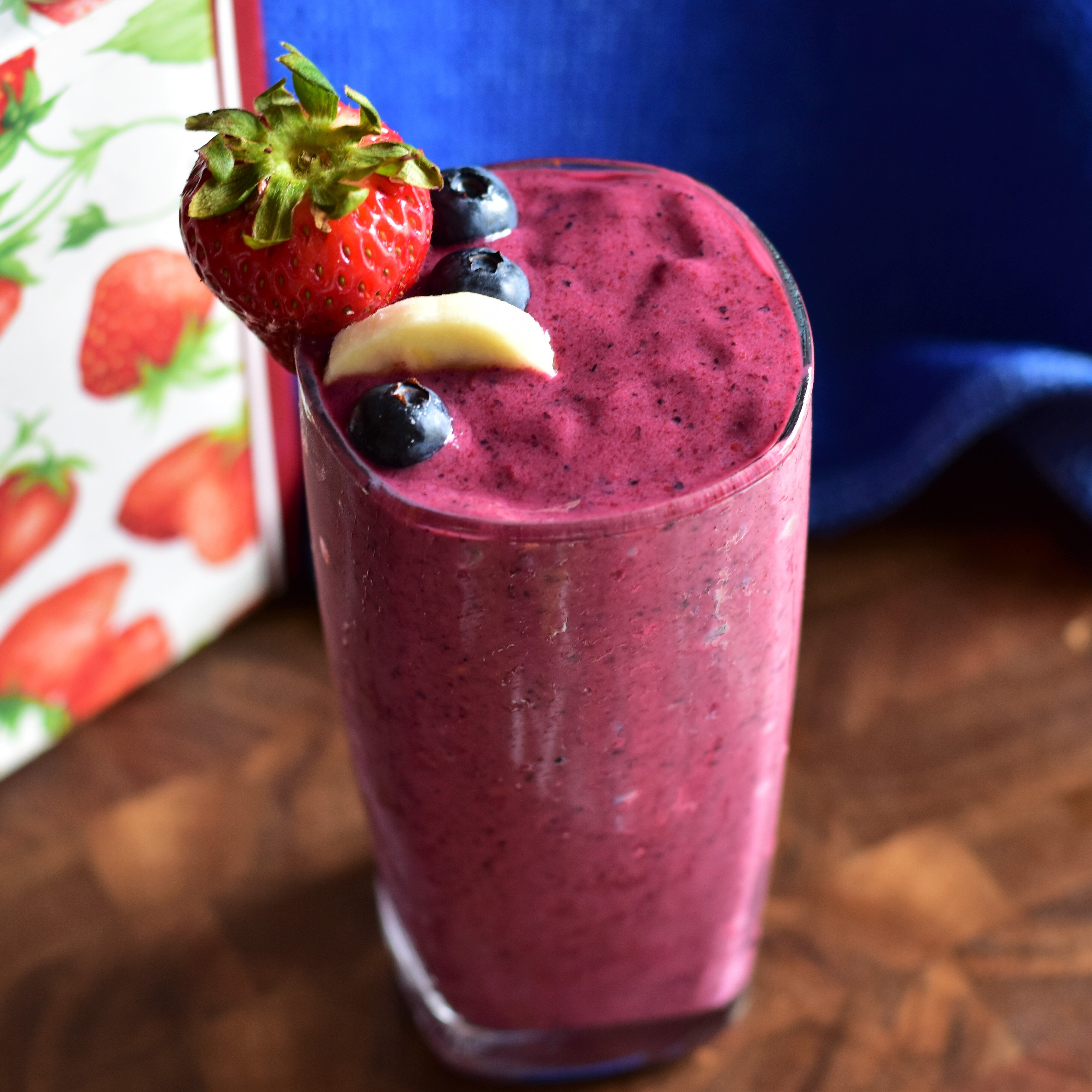 red white and blue fruit smoothie recipe