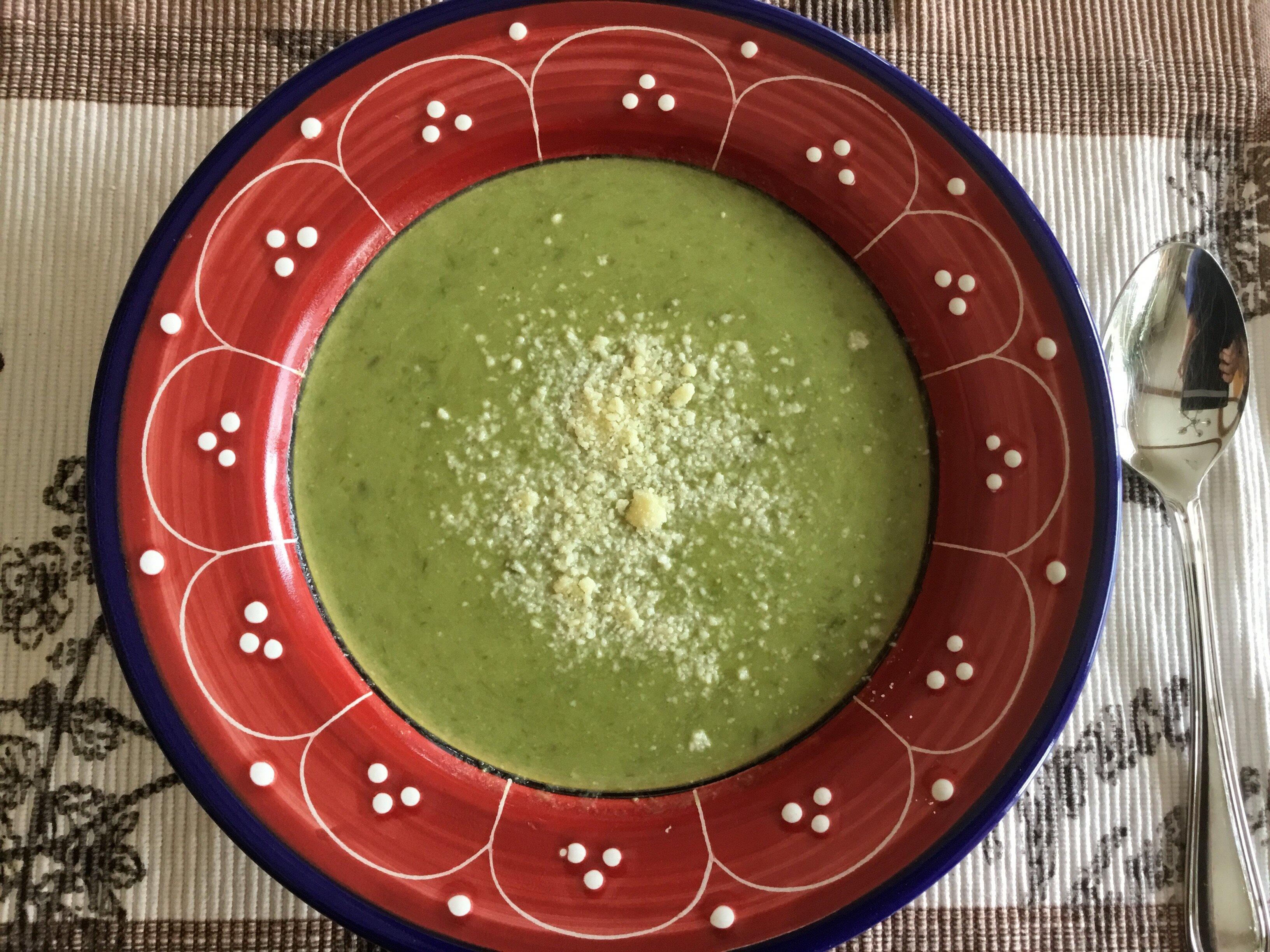 fresh asparagus soup recipe