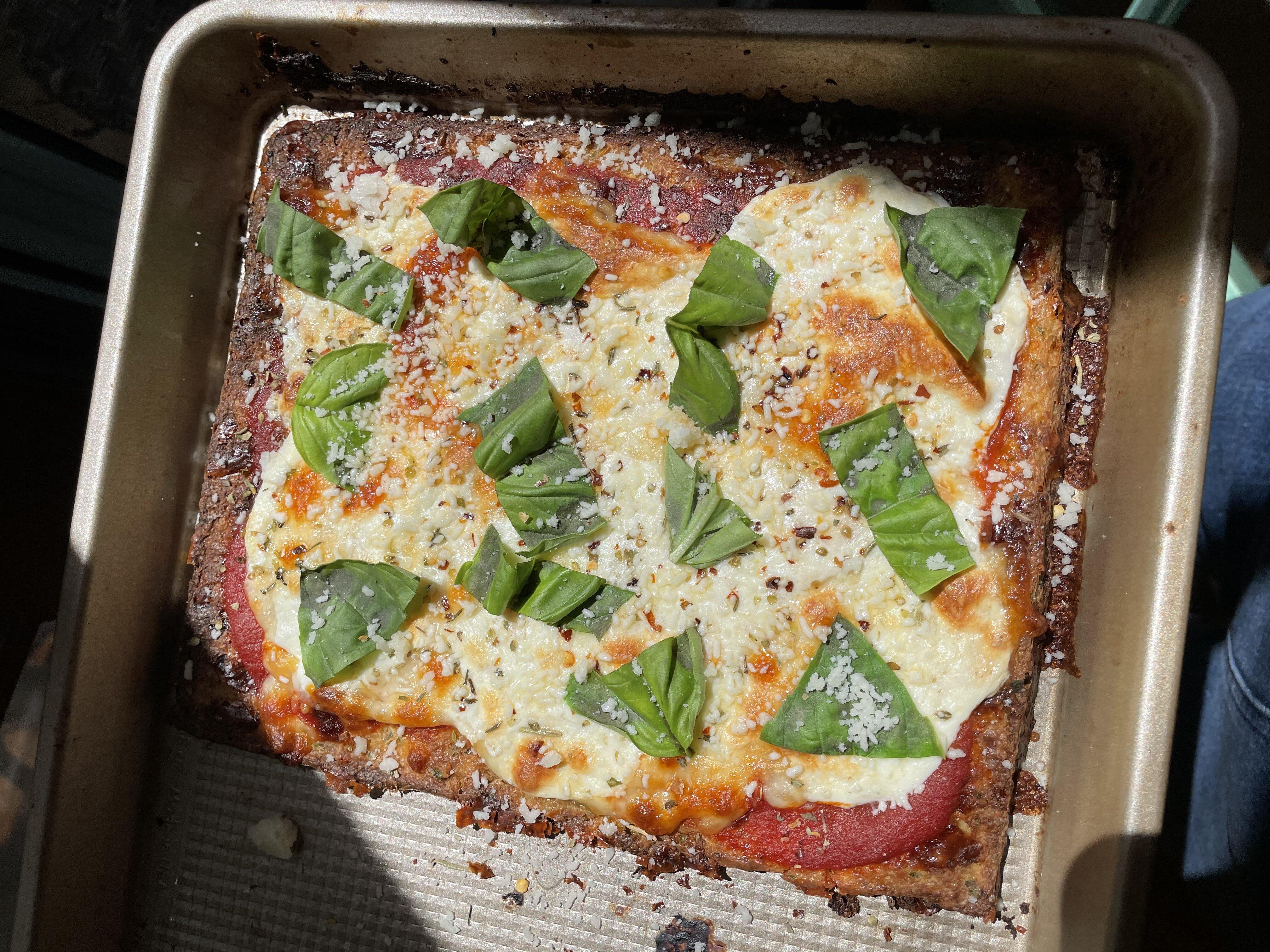 no fail cauliflower pizza crust
