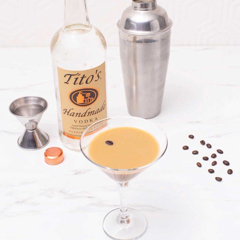 titos espresso martini