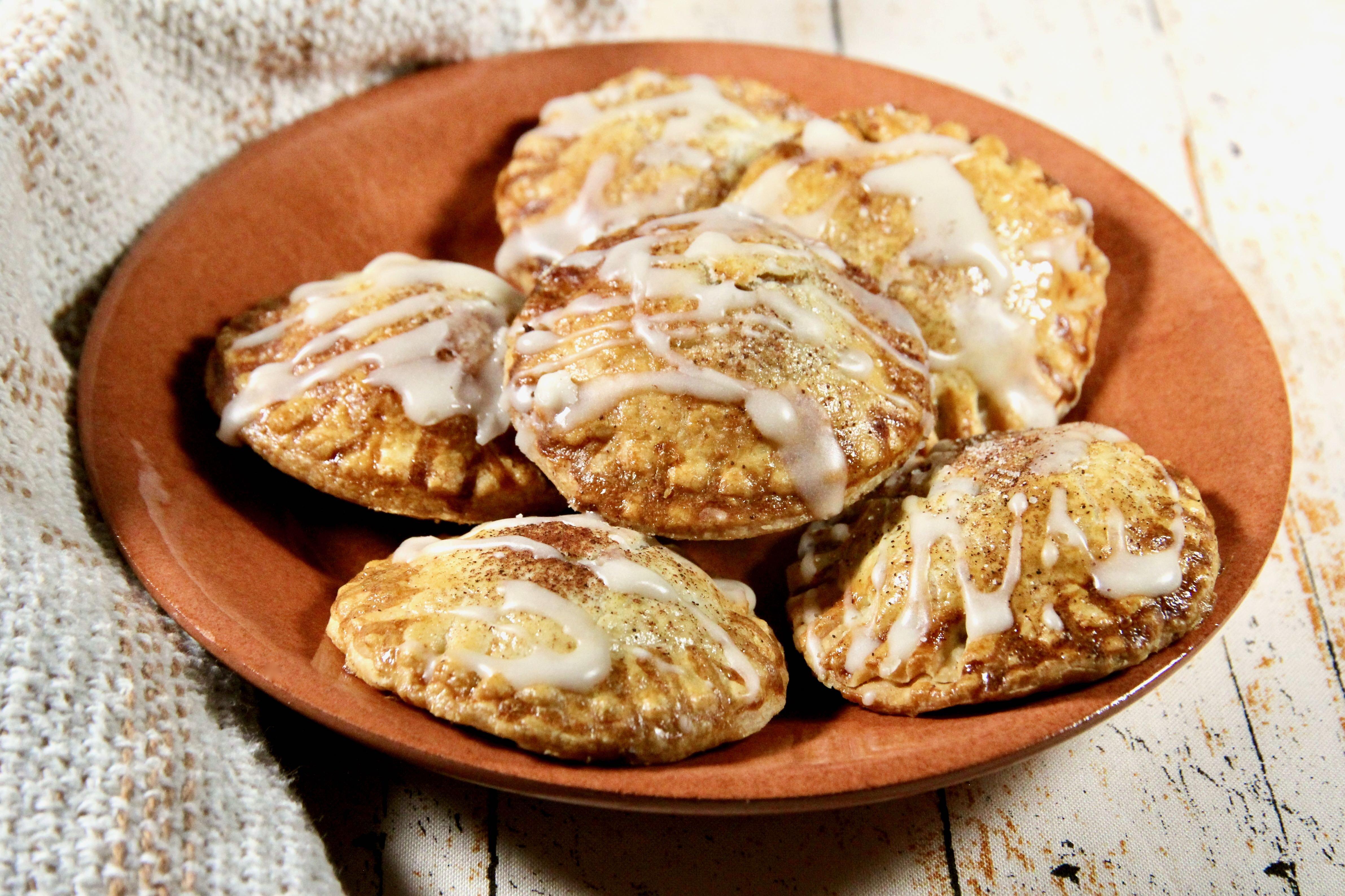 air fryer walnut pumpkin pie cookies