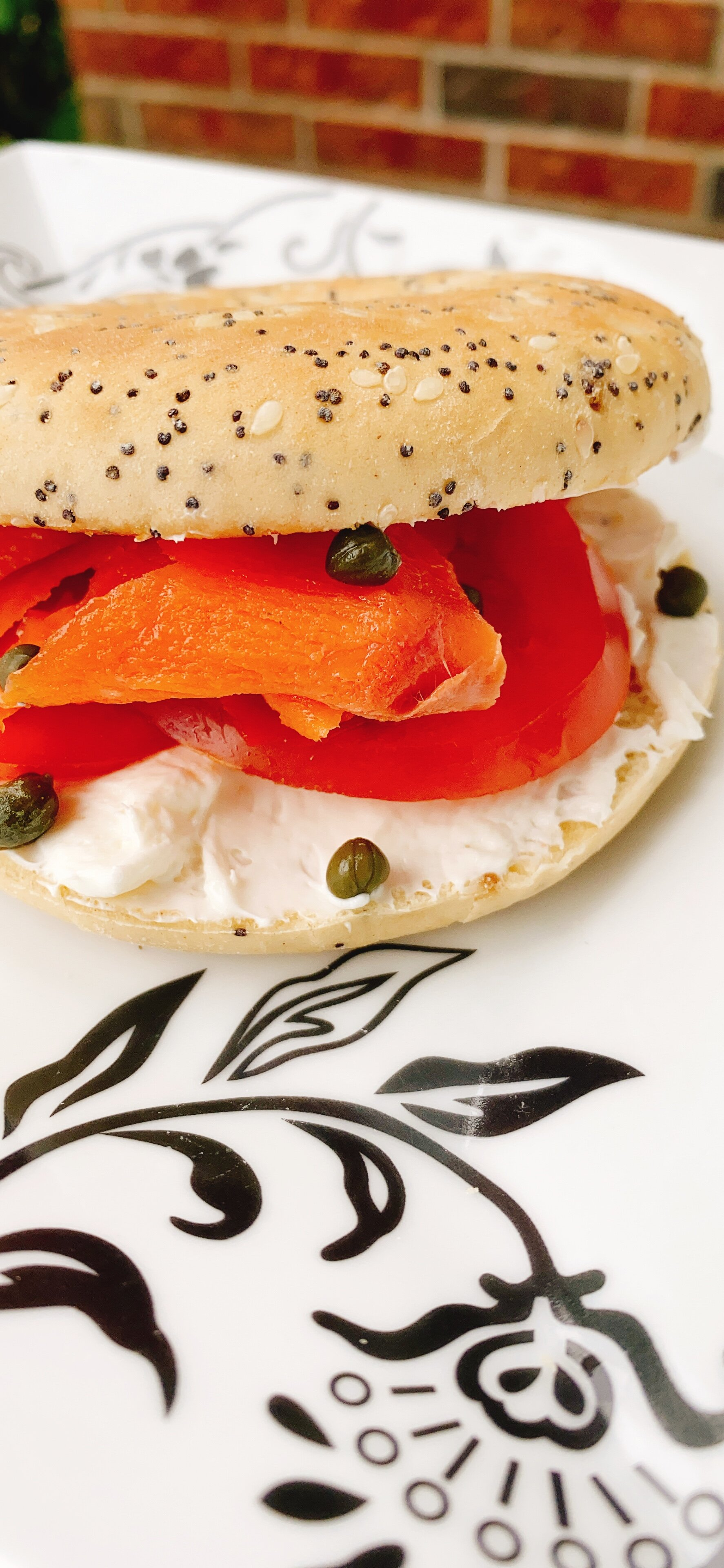 nova lox everything breakfast bagel