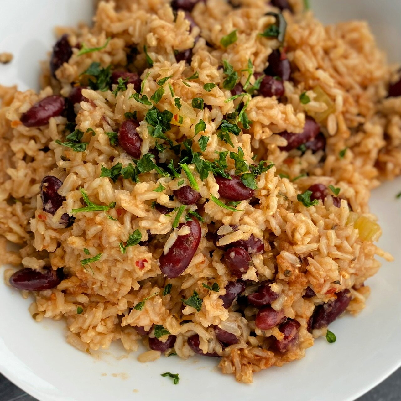 instant pot vegan red beans and rice